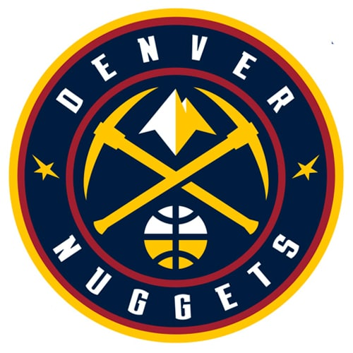 Denver Nuggets Fathead Logo Giant Removable Decal