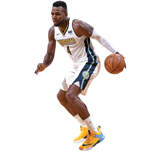 Paul Millsap Denver Nuggets Fathead Life Size Removable Wall Decal