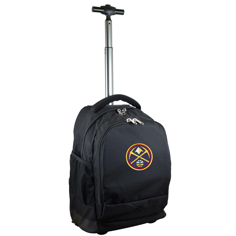 Denver Nuggets 19'' Premium Wheeled Backpack - Black