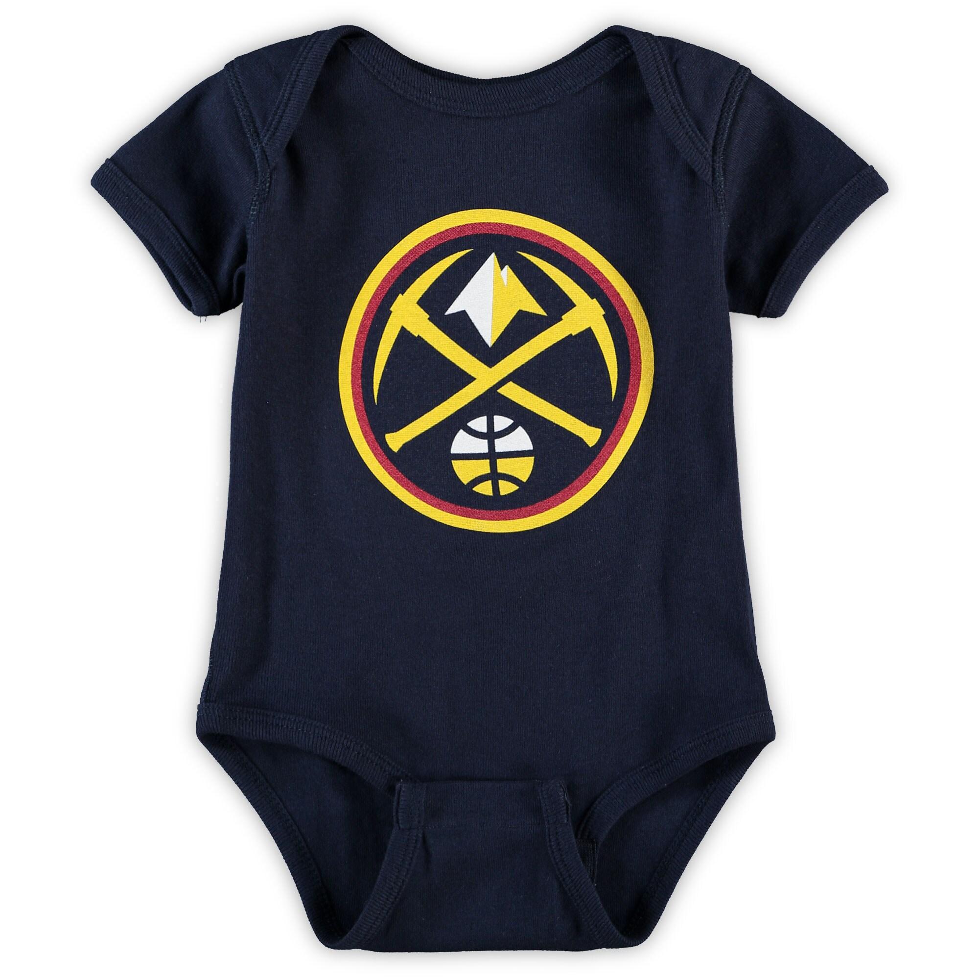 Denver Nuggets Infant Primary Team Logo Bodysuit - Navy