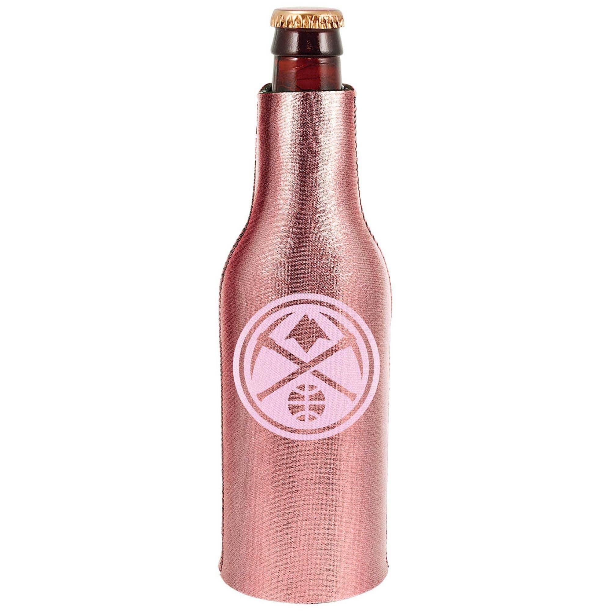 Denver Nuggets 12oz. Rose Gold Bottle Cooler