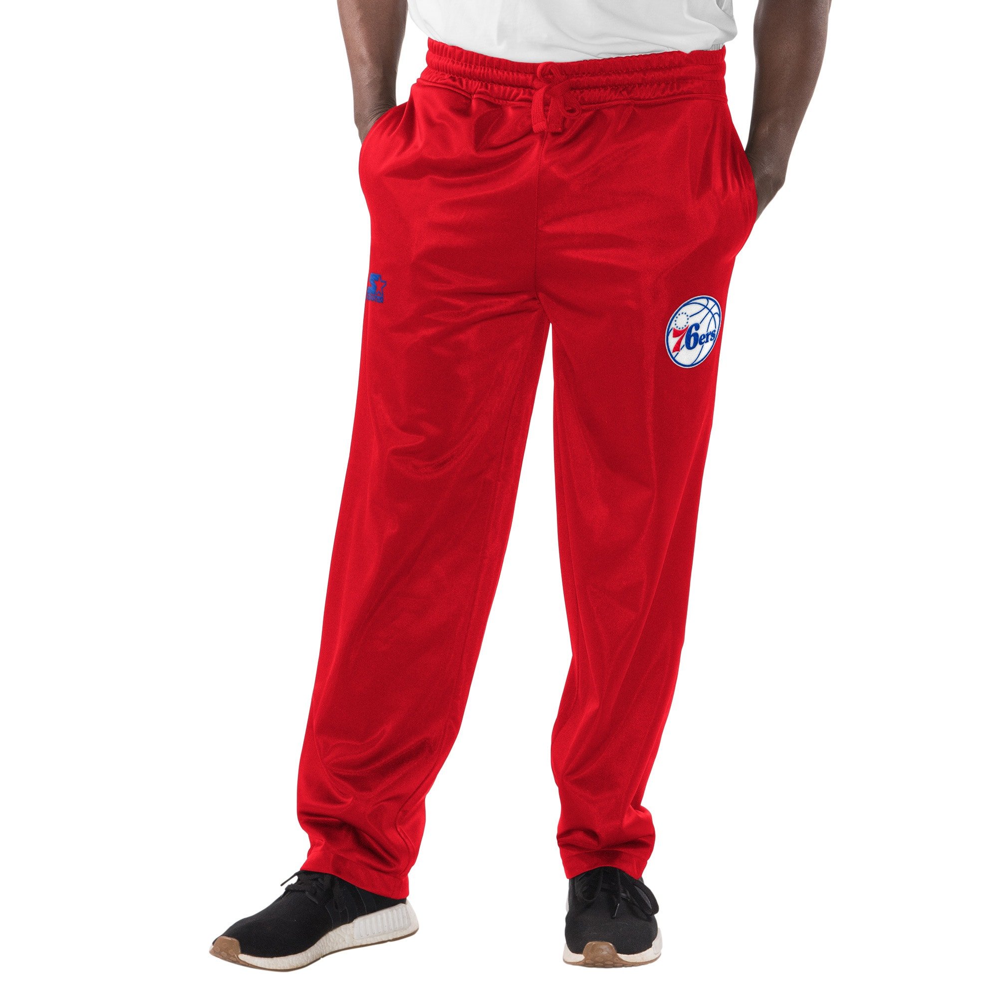 Philadelphia 76ers Starter Warm Up Pants - Red
