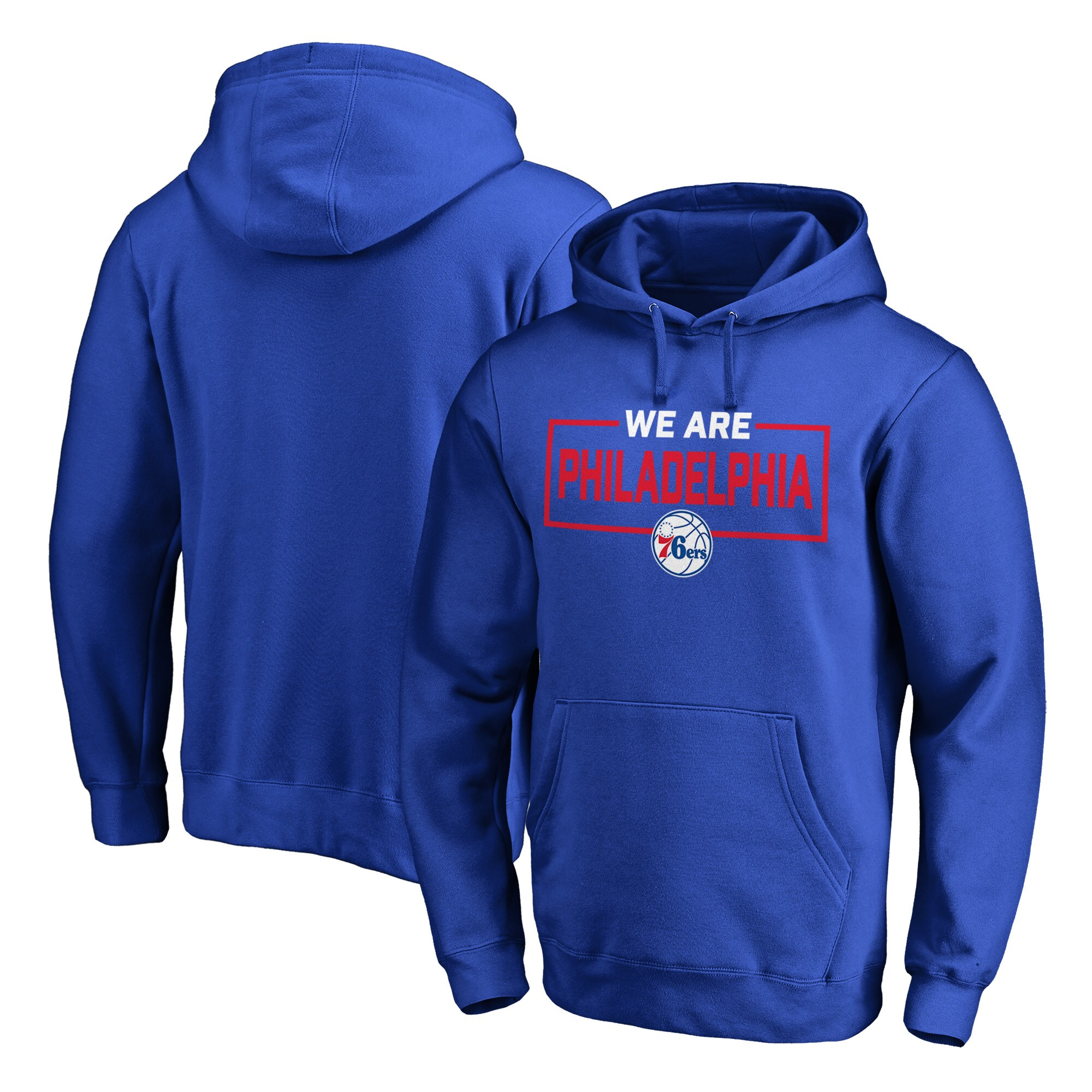 Philadelphia 76ers Fanatics Branded We Are Iconic Collection Pullover Hoodie - Royal