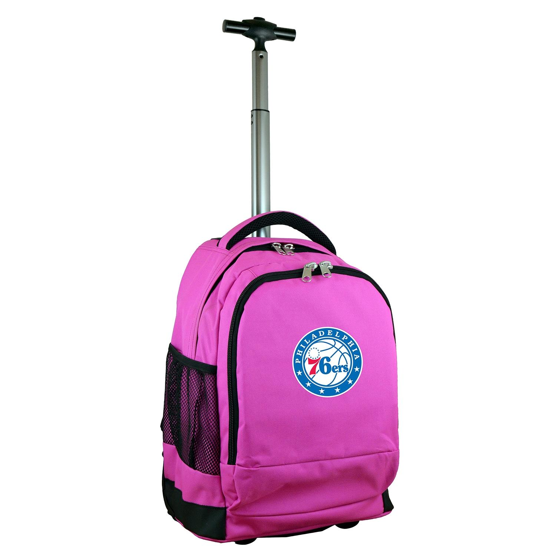 Philadelphia 76ers 19'' Premium Wheeled Backpack - Pink