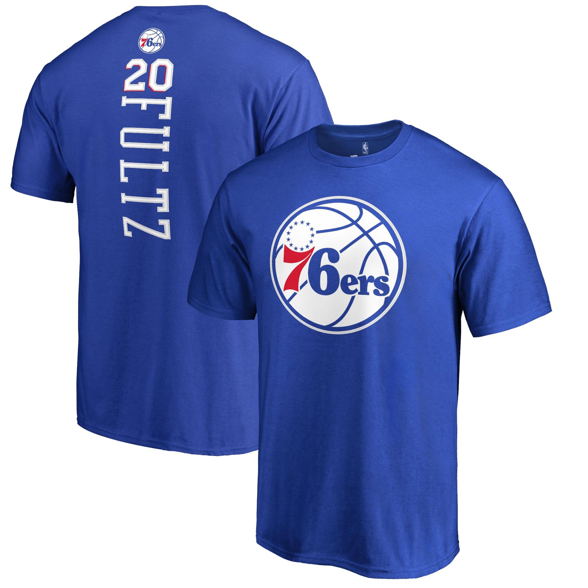 Markelle Fultz Philadelphia 76ers Fanatics Branded Backer Big & Tall T-Shirt - Royal