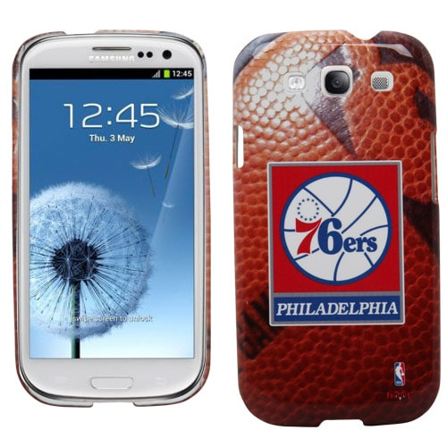 Philadelphia 76ers Samsung Galaxy Game Ball S3 Case