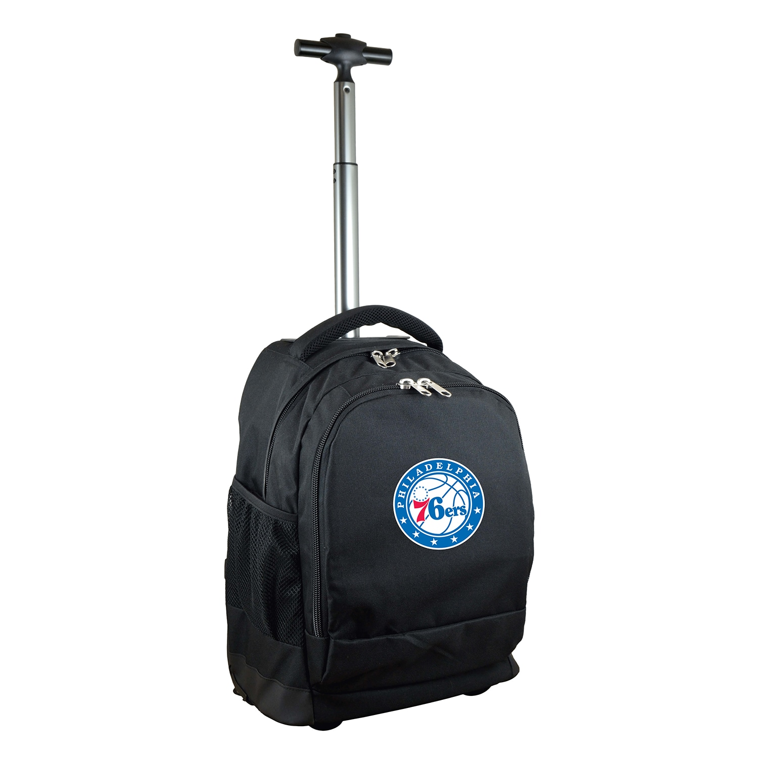 Philadelphia 76ers 19'' Premium Wheeled Backpack - Black