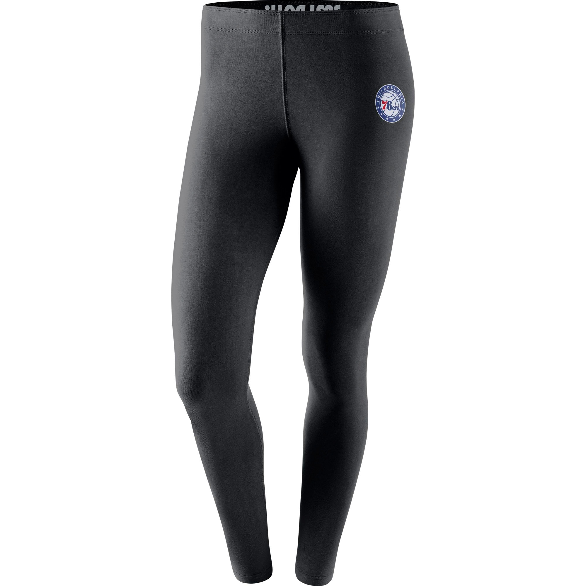 Philadelphia 76ers Nike Women's Leg-A-See Tights - Black