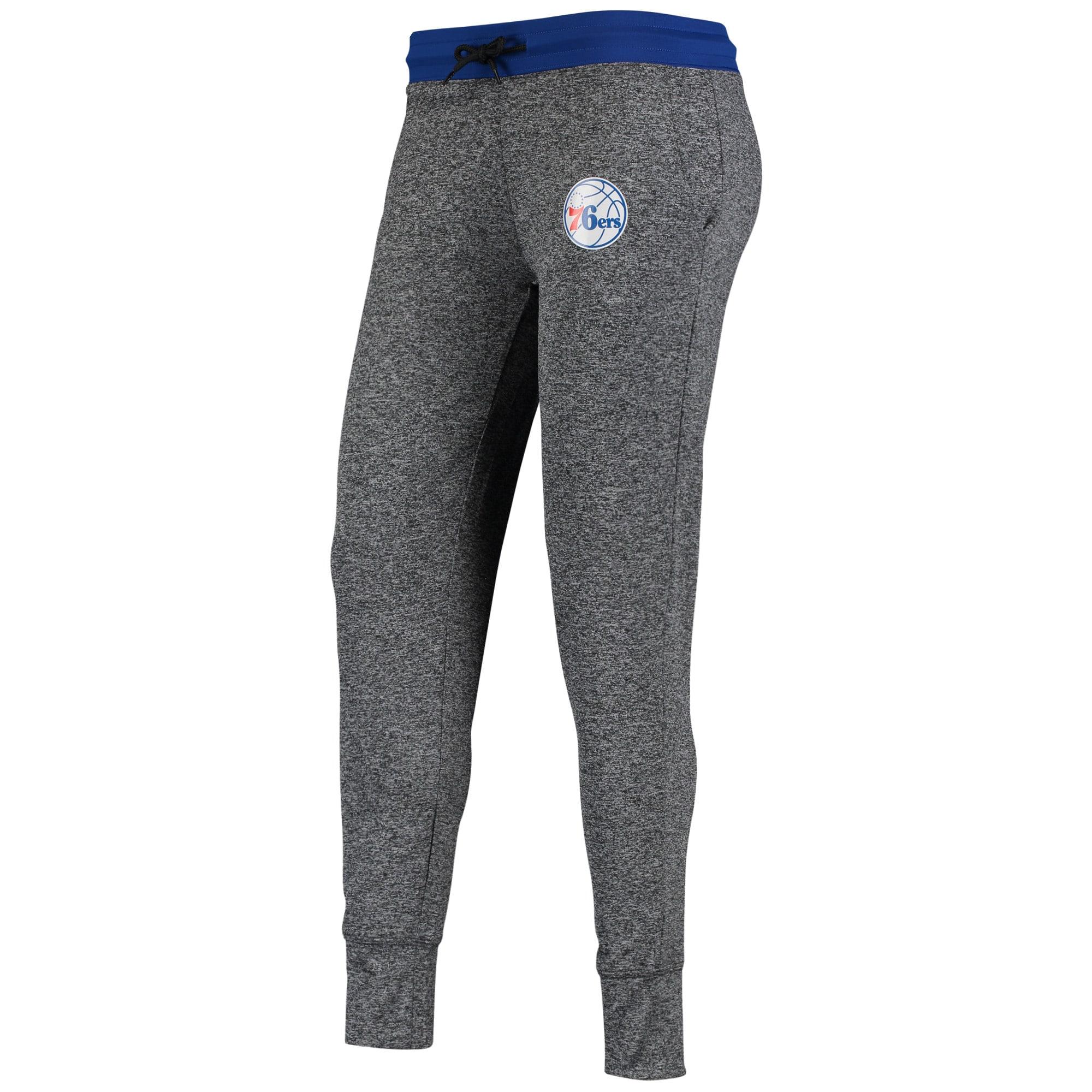 Philadelphia 76ers Fanatics Branded Women's Static Jogger Pant - Heathered Black/Royal
