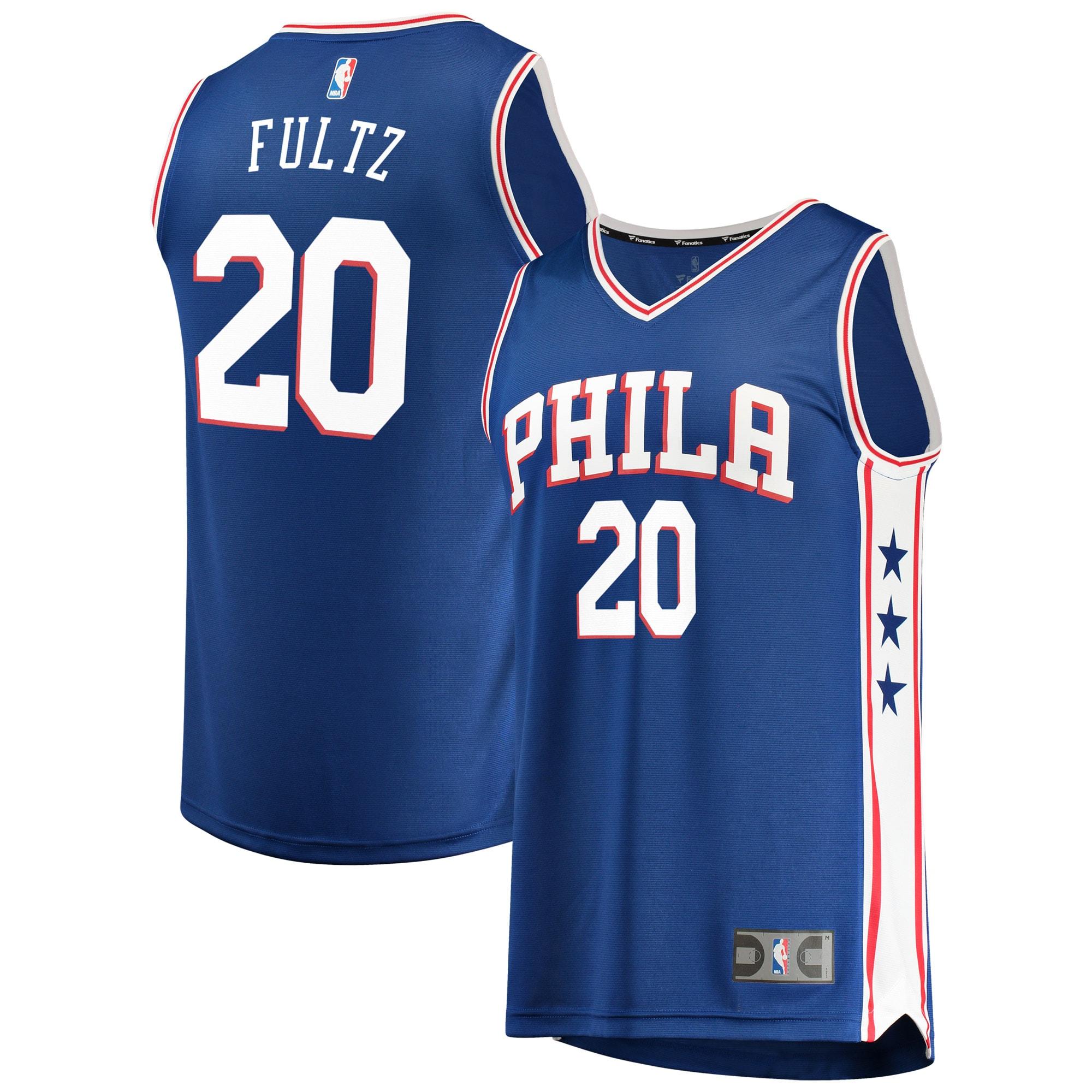 Markelle Fultz Philadelphia 76ers Fanatics Branded Youth Fast Break Replica Jersey Royal - Icon Edition