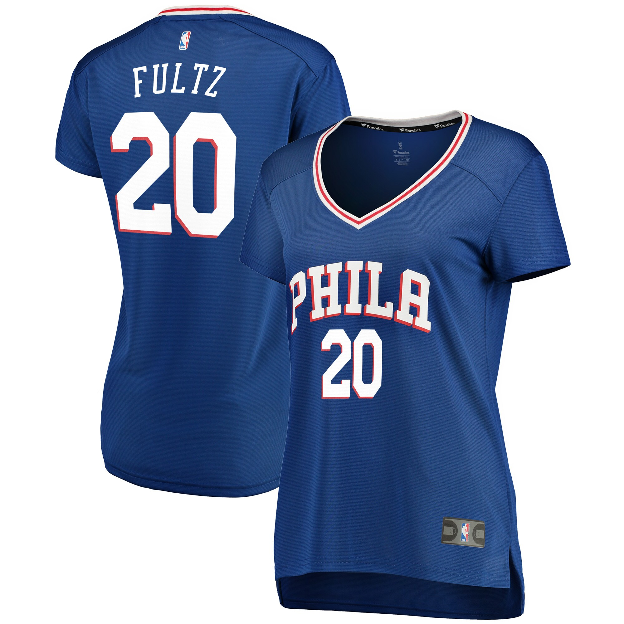 Markelle Fultz Philadelphia 76ers Fanatics Branded Women's Fast Break Replica Jersey Royal - Icon Edition
