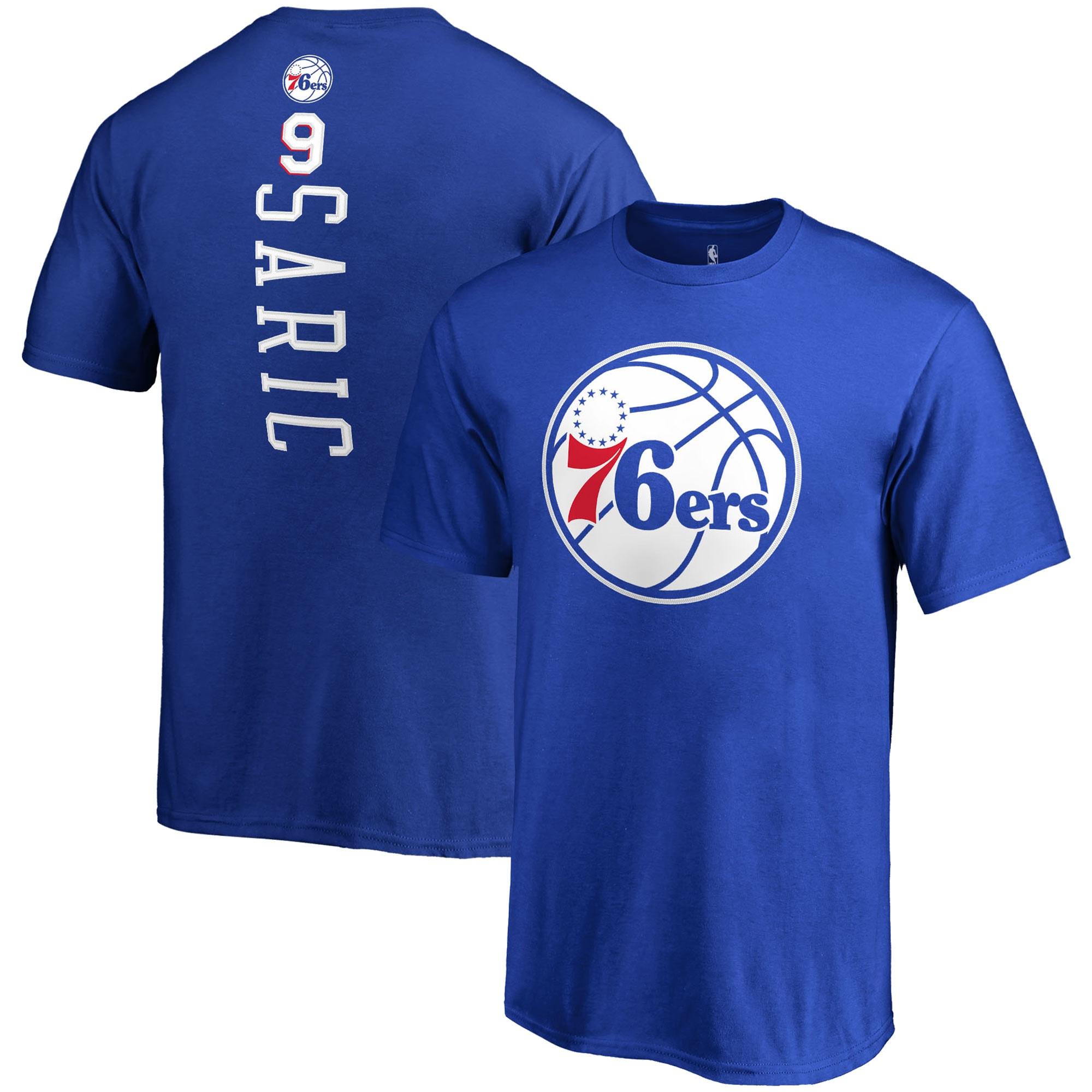 Dario Saric Philadelphia 76ers Fanatics Branded Youth Backer Name & Number T-Shirt - Royal