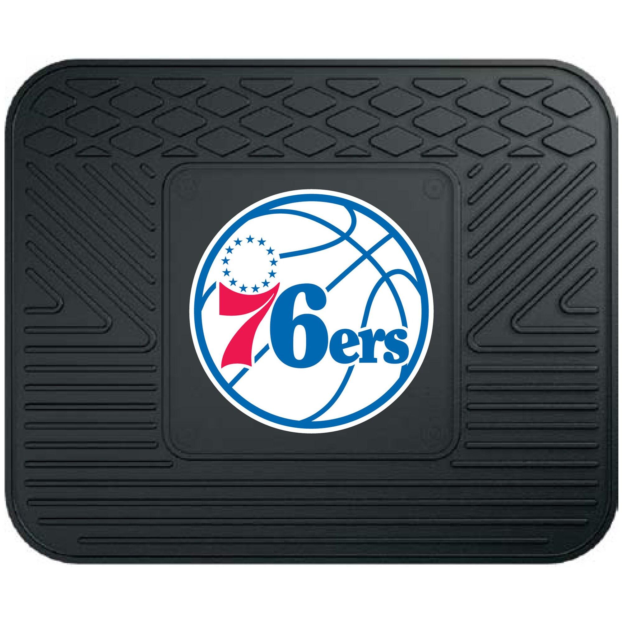 "Philadelphia 76ers 17"" x 14"" Utility Mat"