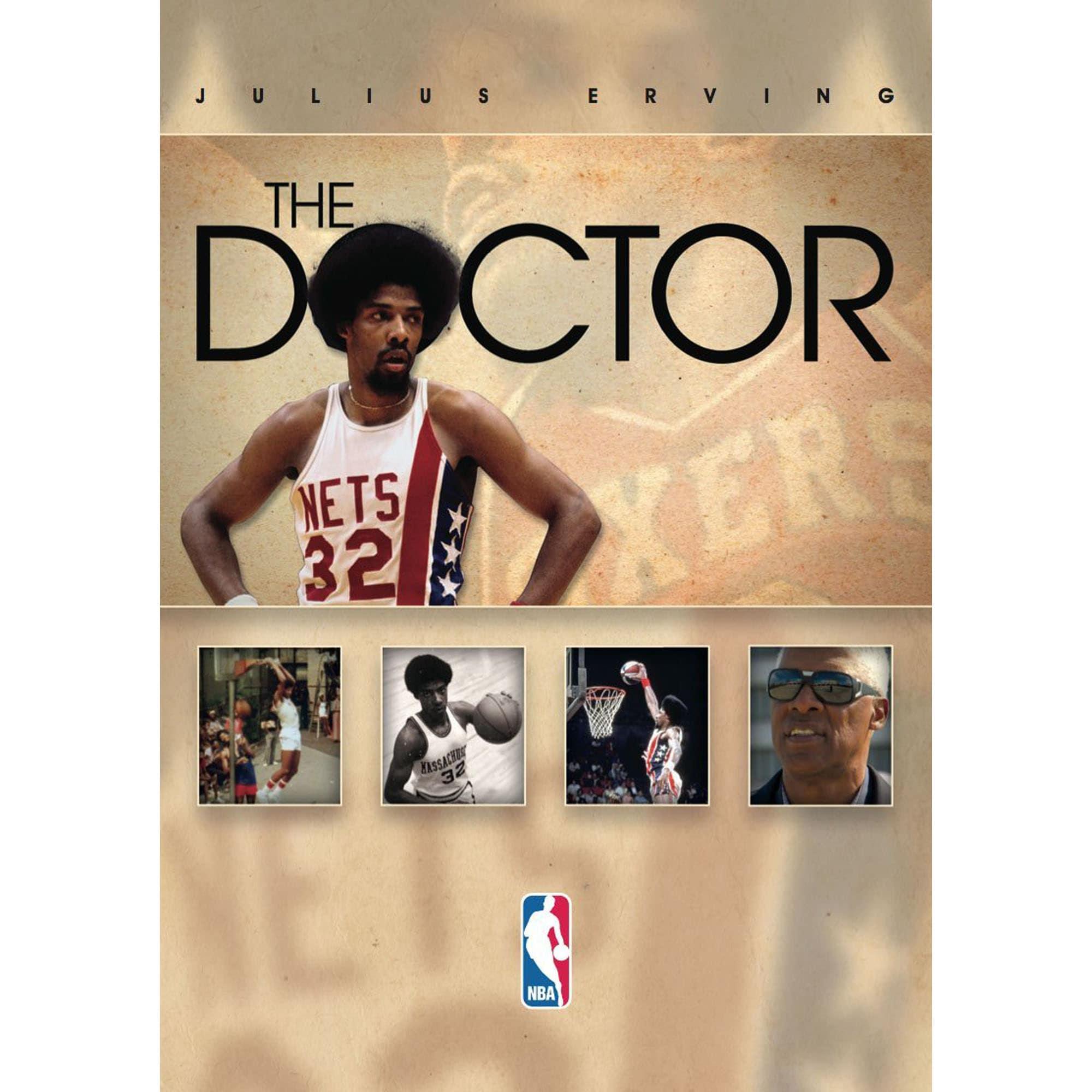 Julius Erving Philadelphia 76ers The Doctor DVD