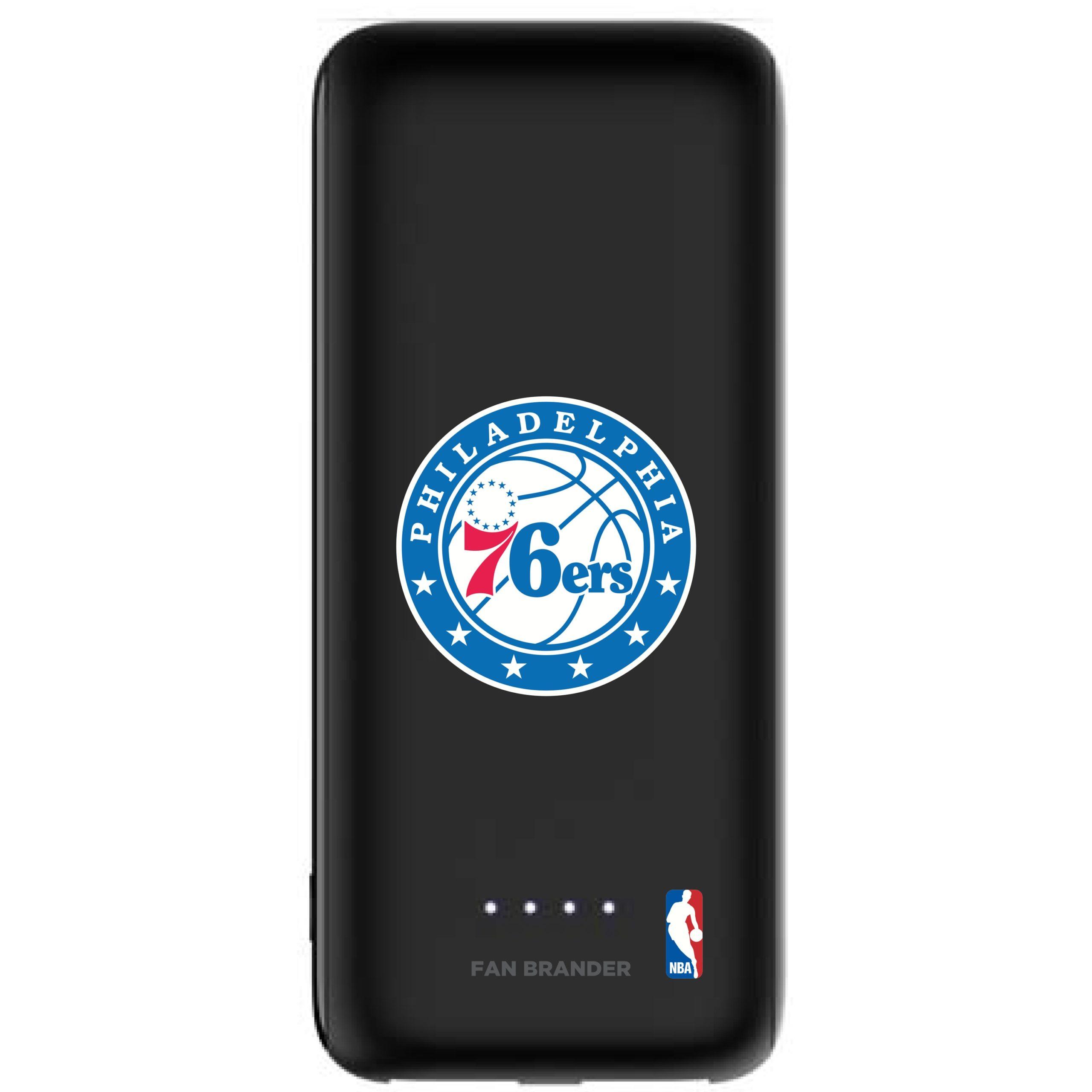 Philadelphia 76ers mophie 5200 mAh Universal Battery Power Boost