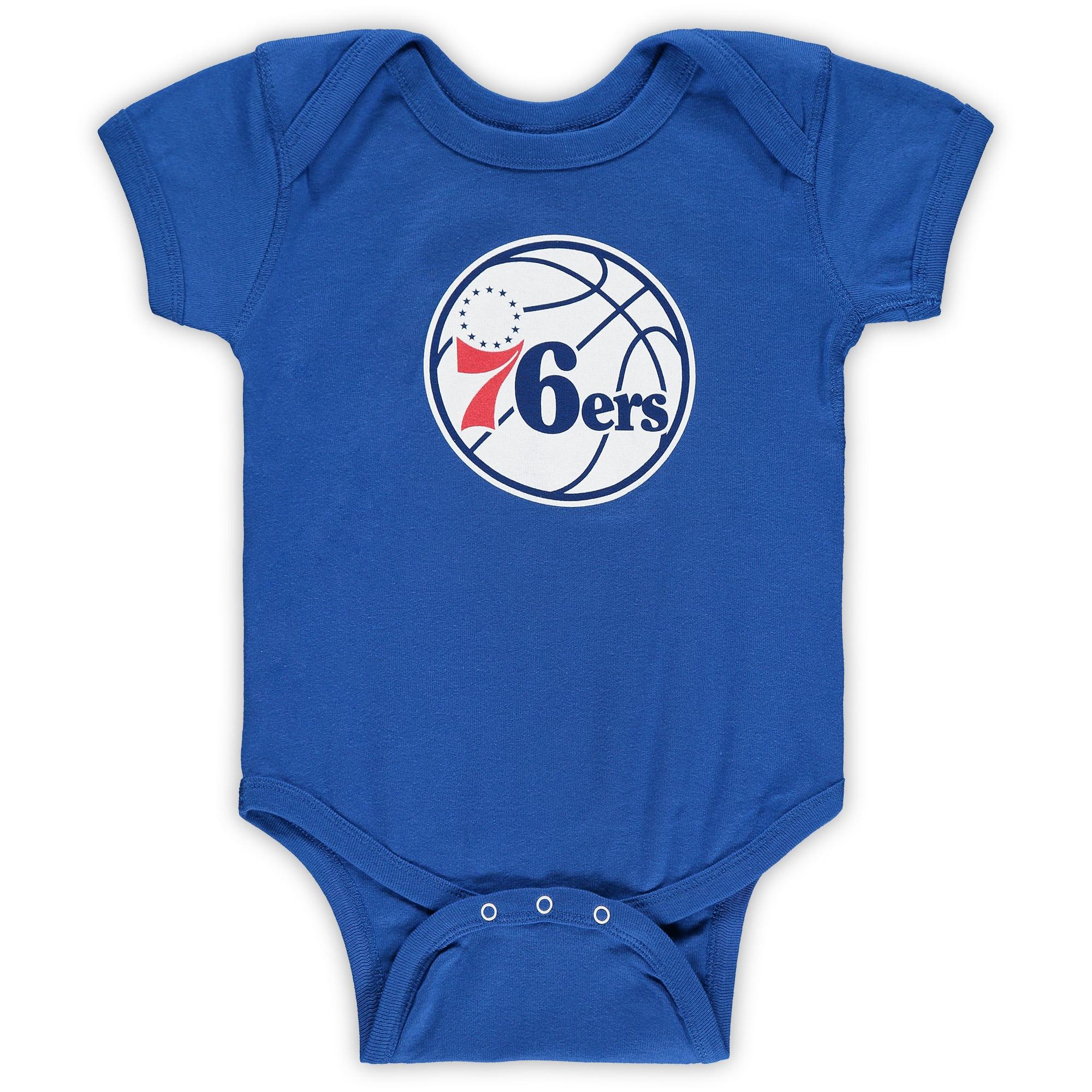 Philadelphia 76ers Infant Primary Team Logo Bodysuit - Royal