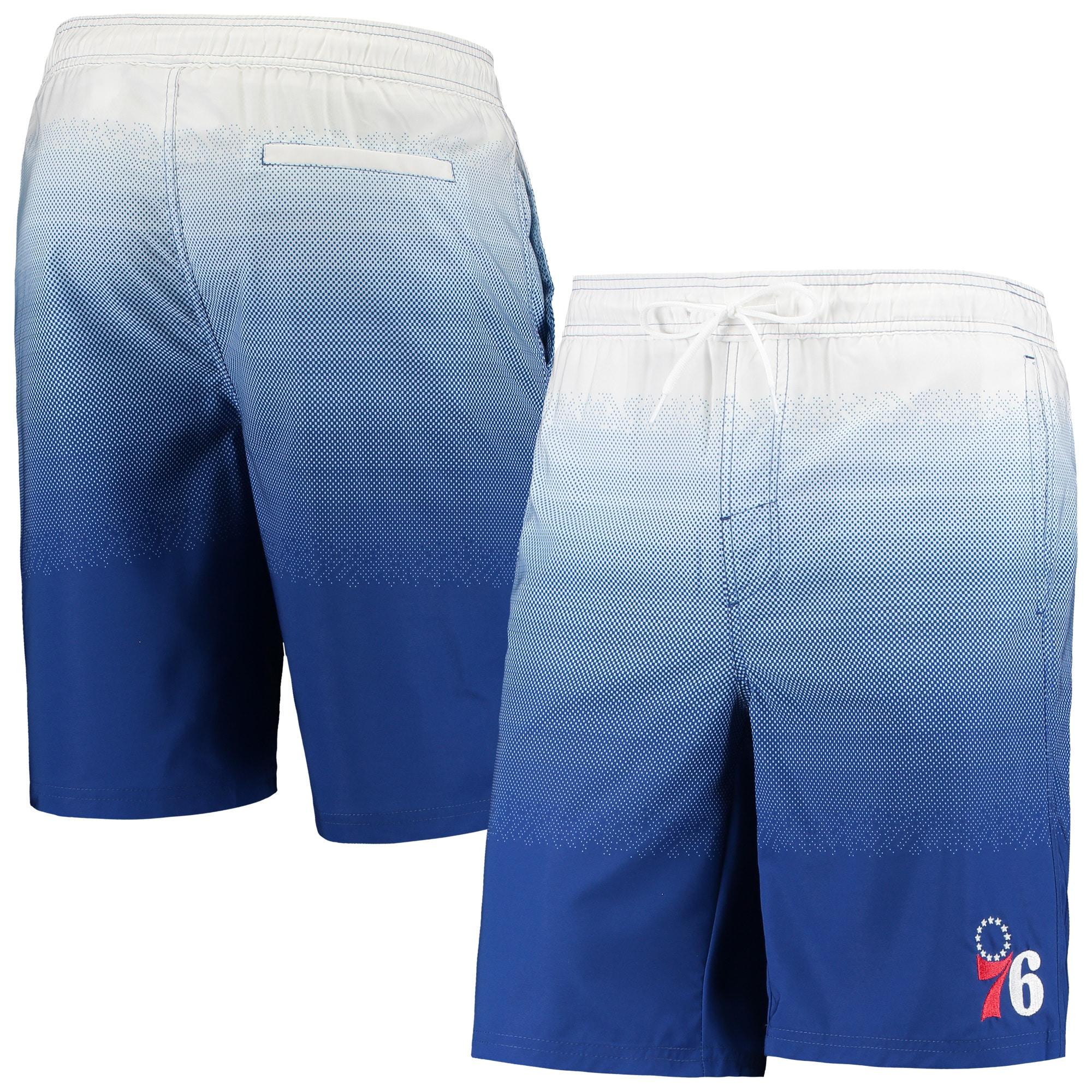 Philadelphia 76ers G-III Sports by Carl Banks Horizon Swim Trunks - Royal