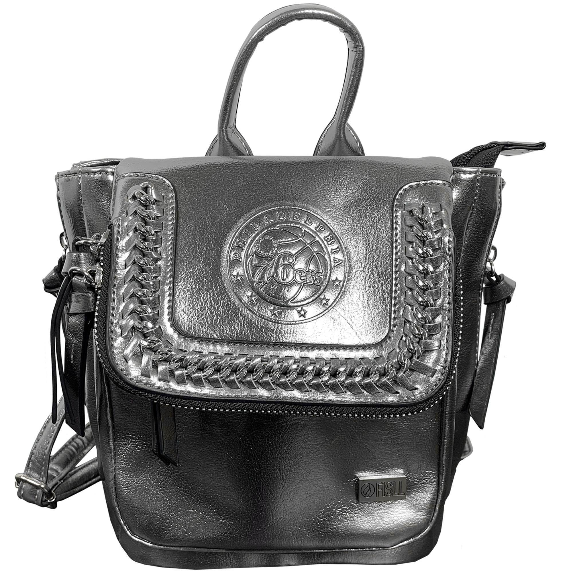 Philadelphia 76ers Metallic Mini Backpack