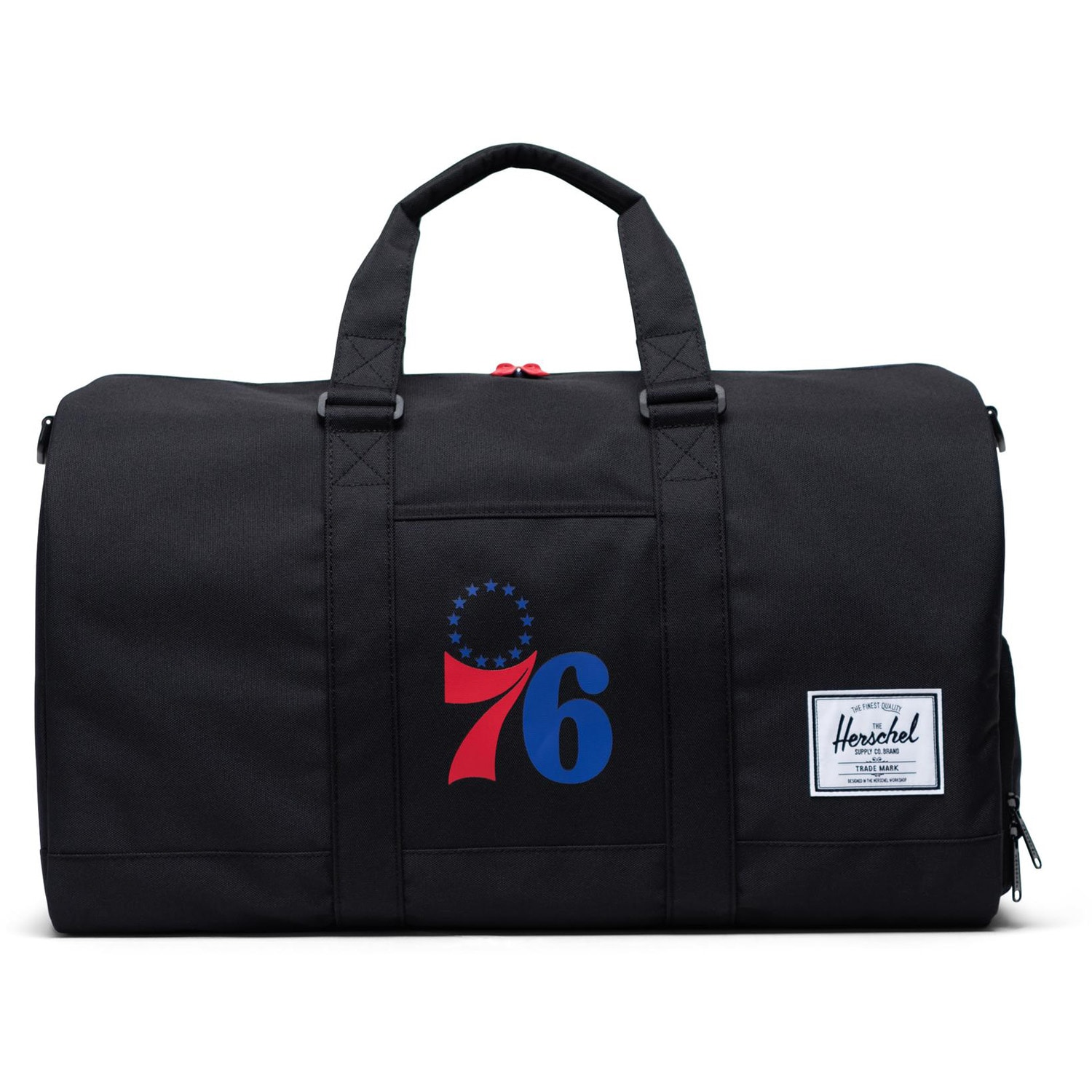 Philadelphia 76ers Herschel Supply Co. Novel Duffel Bag