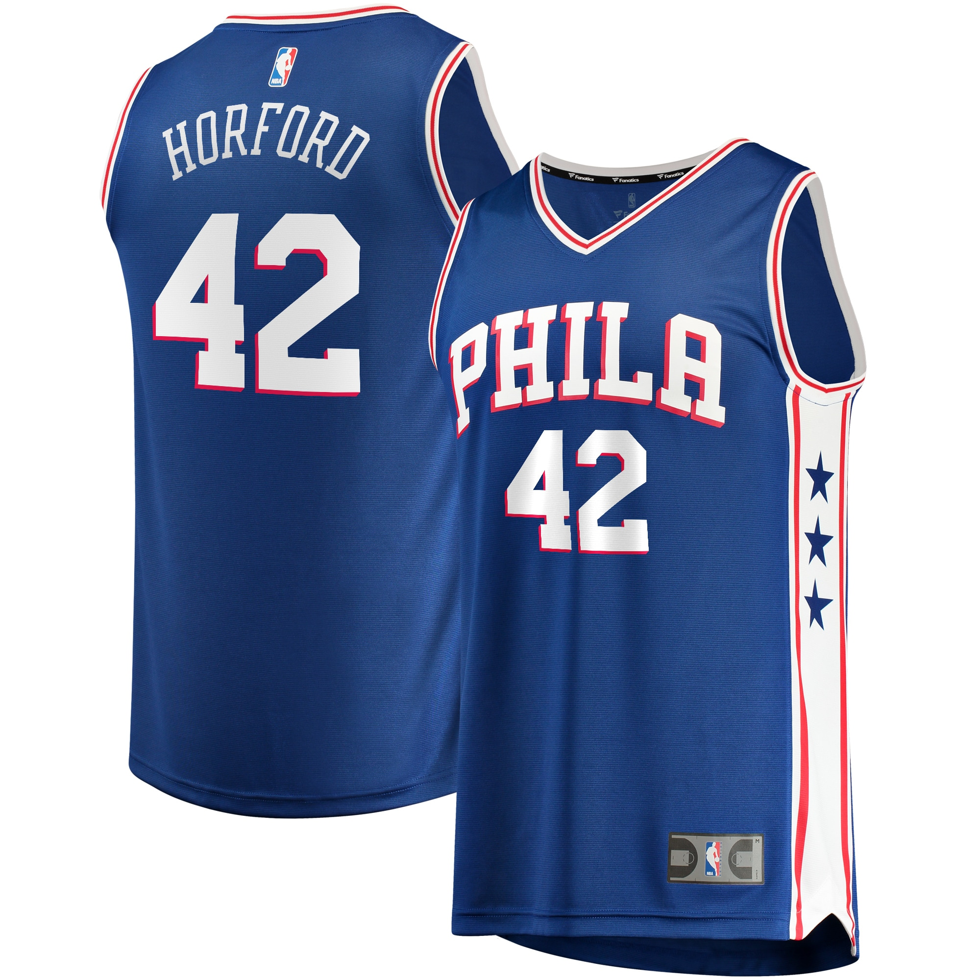 Al Horford Philadelphia 76ers Fanatics Branded Youth 2019/20 Fast Break Replica Jersey Royal - Icon Edition