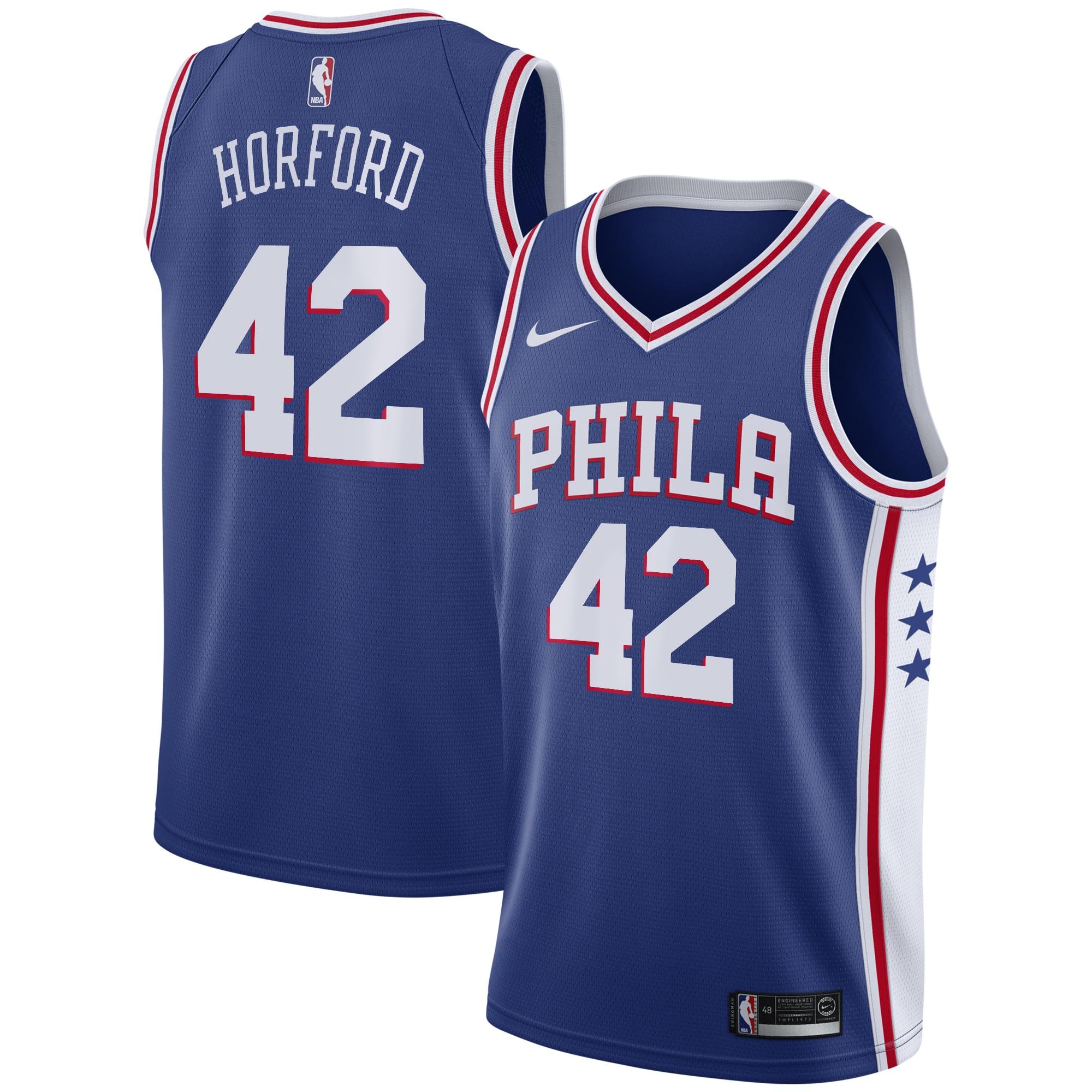 Al Horford Philadelphia 76ers Nike 2019/20 Swingman Jersey Royal - Icon Edition