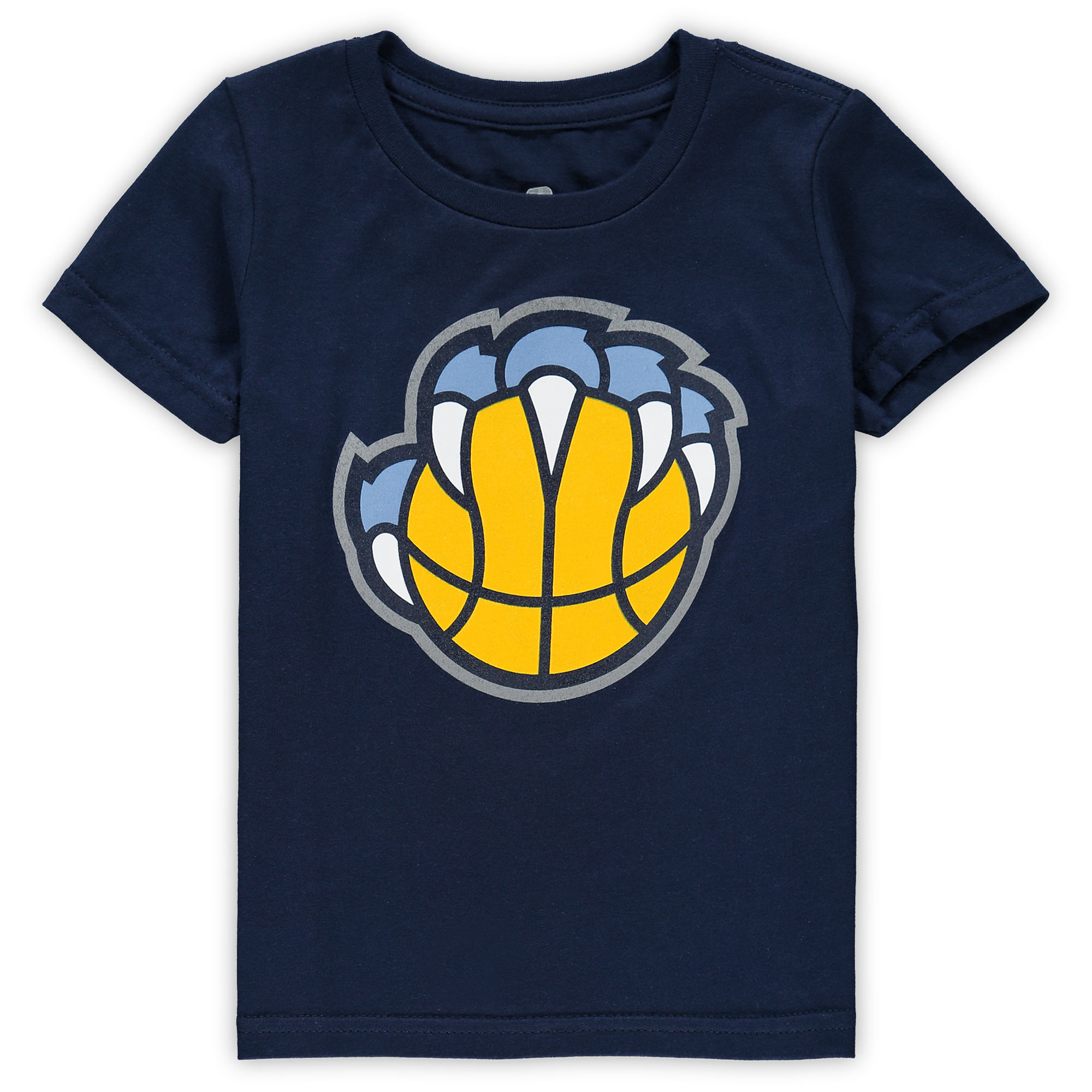 Memphis Grizzlies Toddler Primary Logo T-Shirt - Navy