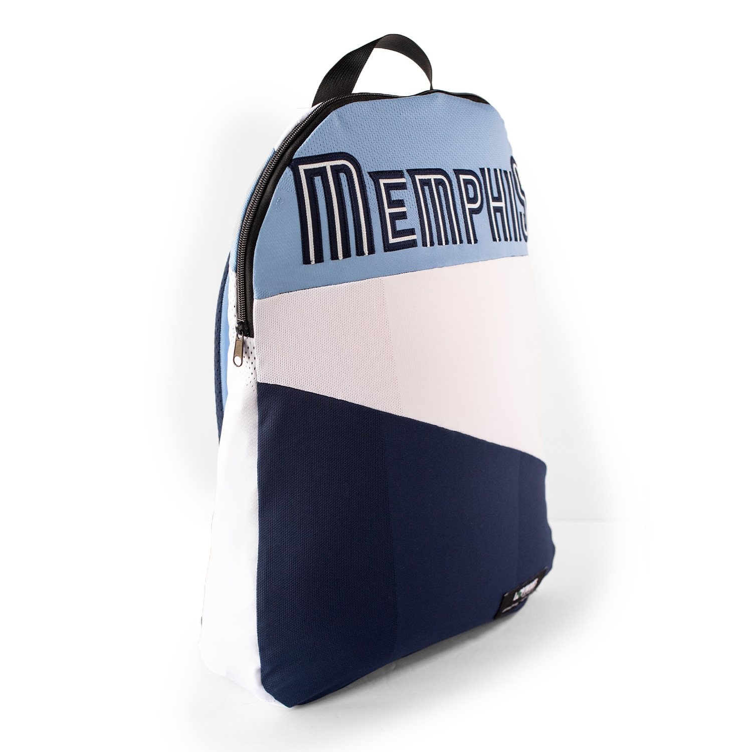 Memphis Grizzlies Upcycled Jersey Packable Backpack