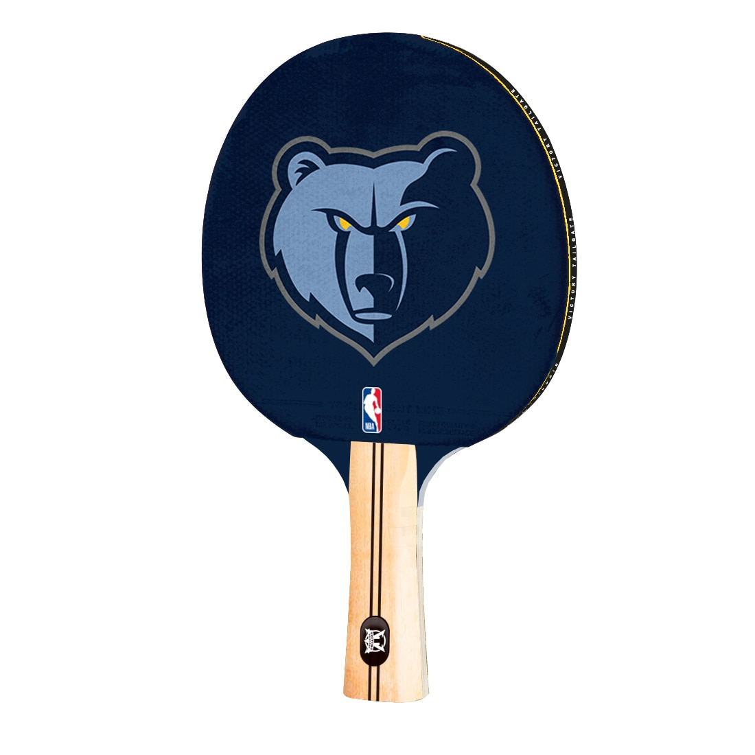 Memphis Grizzlies Logo Table Tennis Paddle