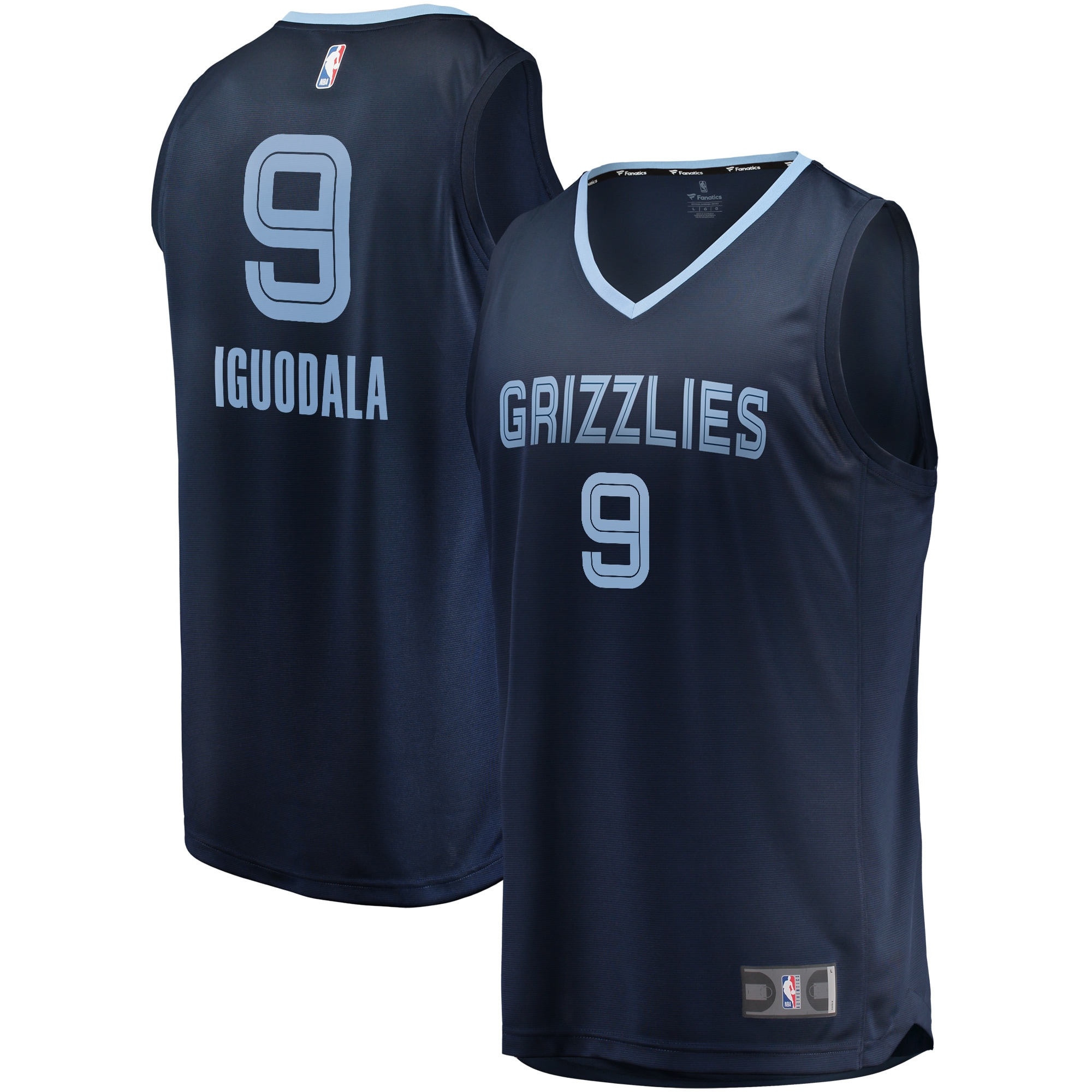 Andre Iguodala Memphis Grizzlies Fanatics Branded Fast Break Player Jersey - Icon Edition - Navy