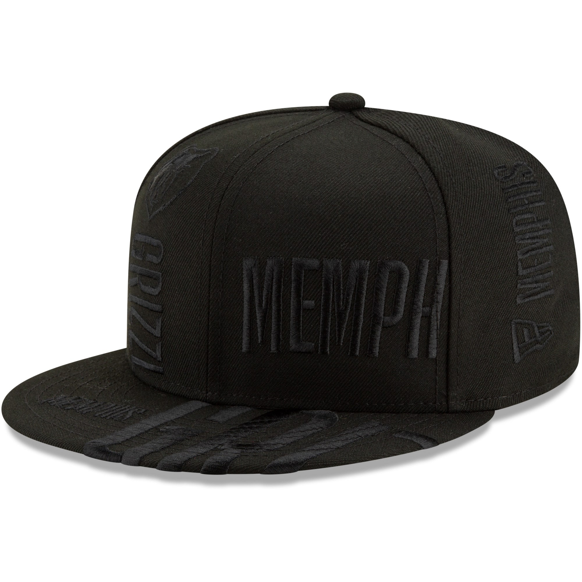 Memphis Grizzlies New Era 2019 NBA Tip-Off Series Tonal 59FIFTY Fitted Hat - Black