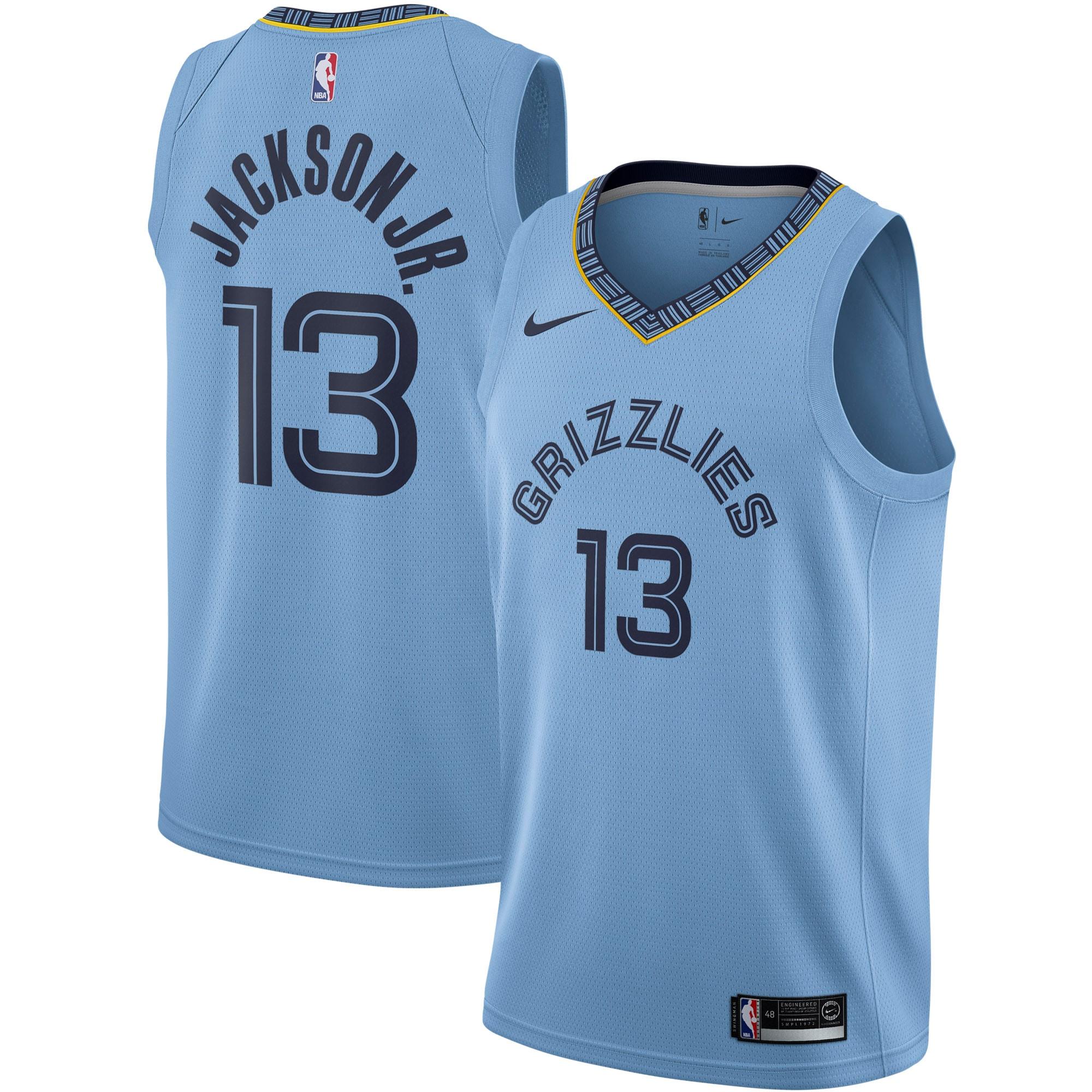 Jaren Jackson Jr. Memphis Grizzlies Nike 2019/2020 Swingman Jersey - Statement Edition - Blue