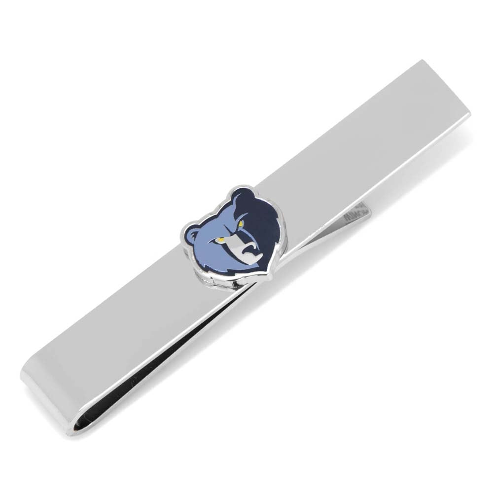 Memphis Grizzlies Tie Bar - Navy
