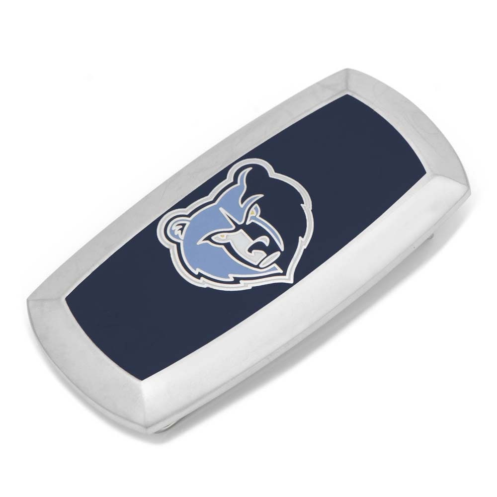 Memphis Grizzlies Cushion Money Clip - Navy
