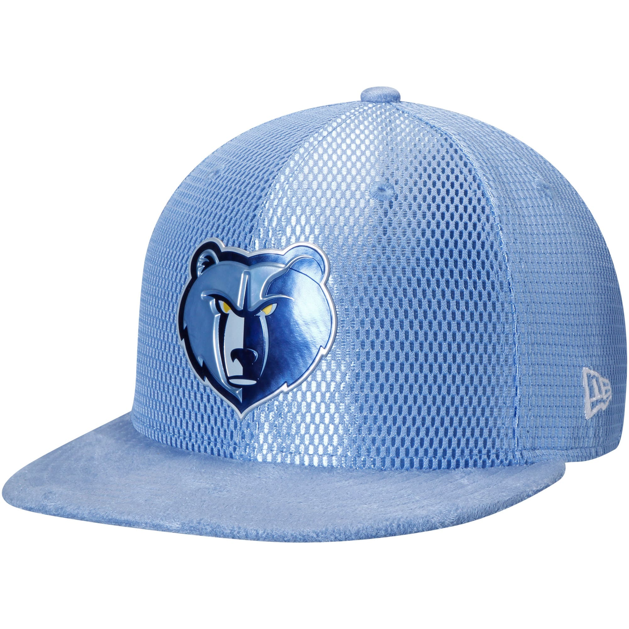 Memphis Grizzlies New Era 2017 NBA Draft Official On Court Collection 59FIFTY Fitted Hat - Light Blue