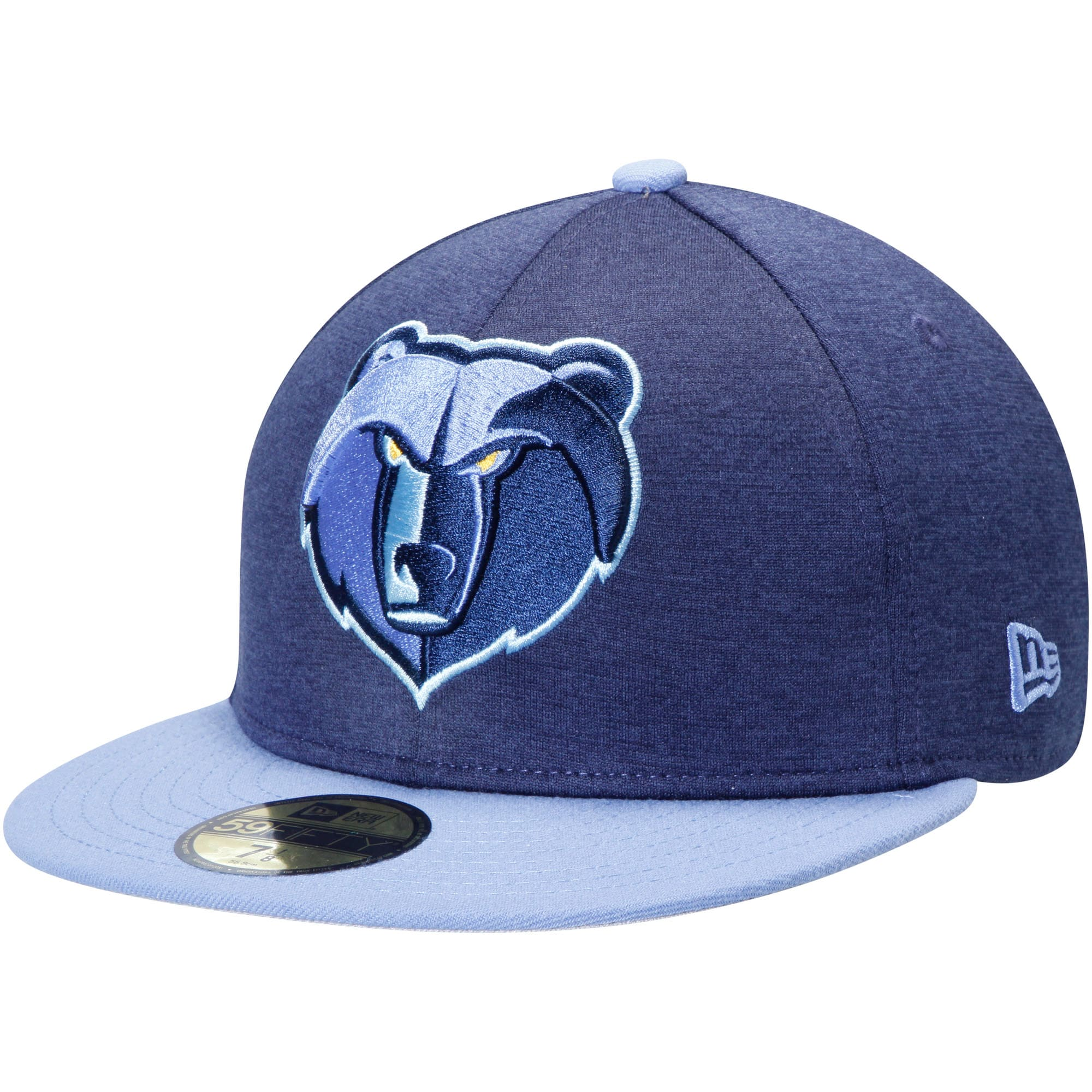 Memphis Grizzlies New Era Huge Logo 59FIFTY Fitted Hat - Navy