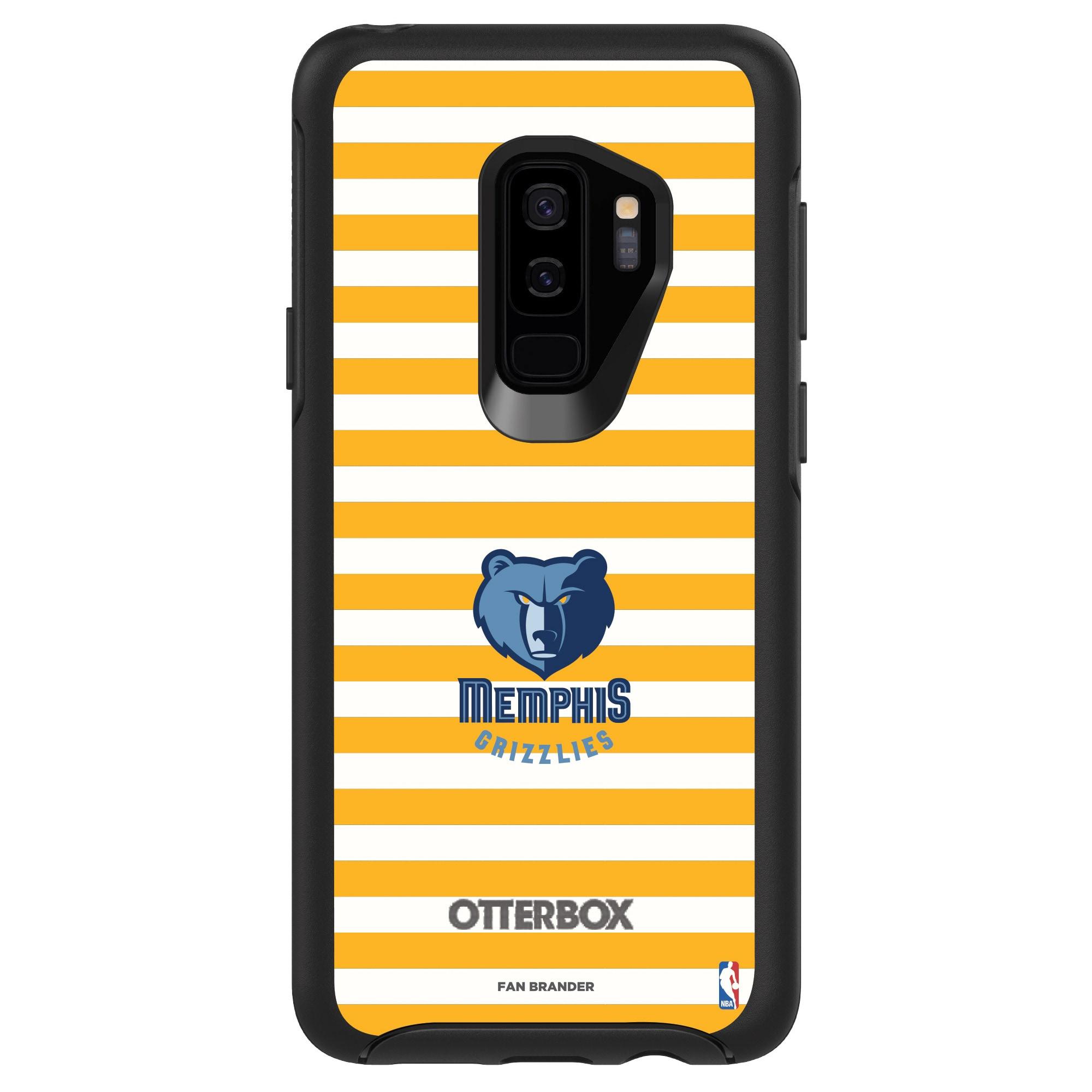 Memphis Grizzlies OtterBox Galaxy Symmetry Striped Design Case