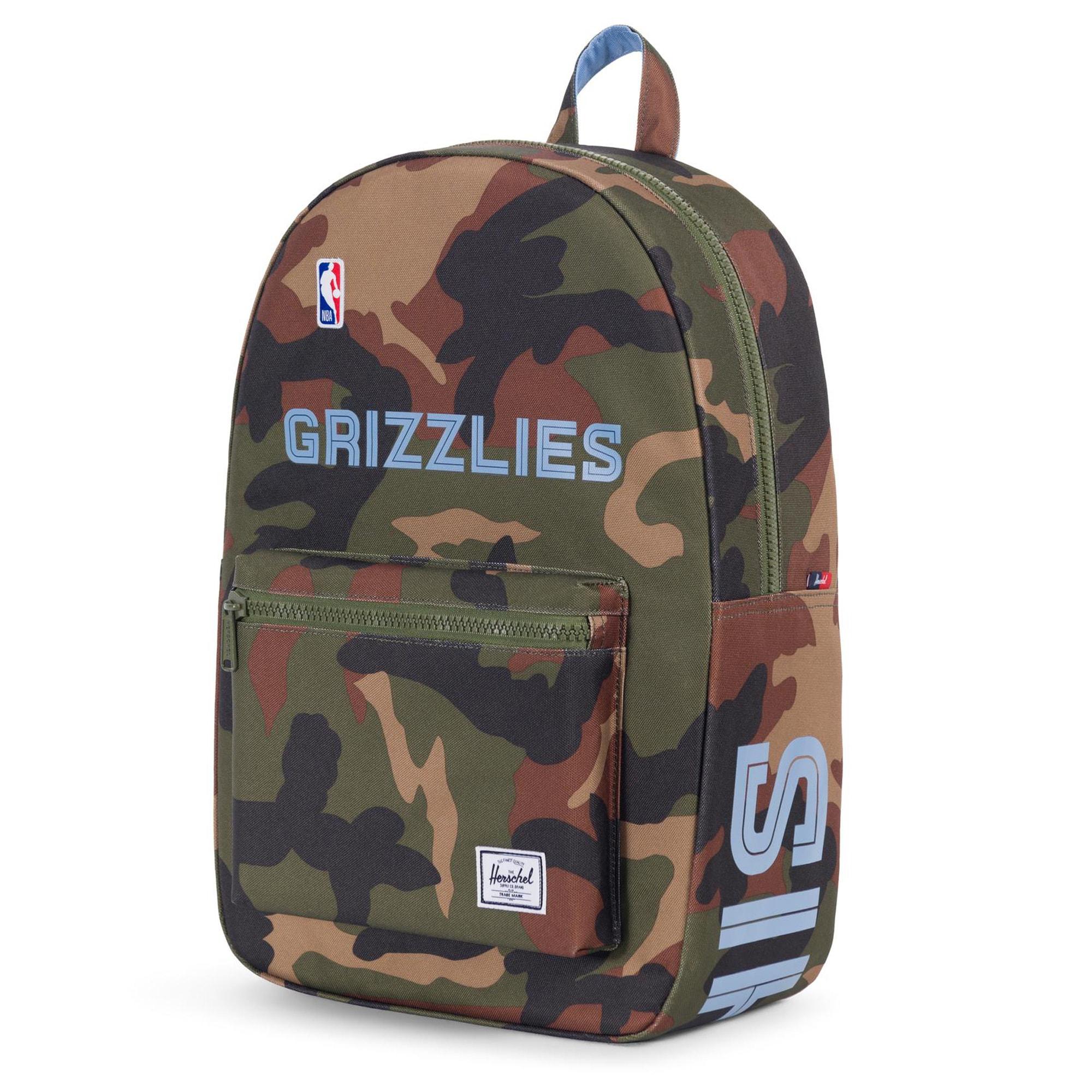 Memphis Grizzlies Herschel Supply Co. Settlement Camo Backpack