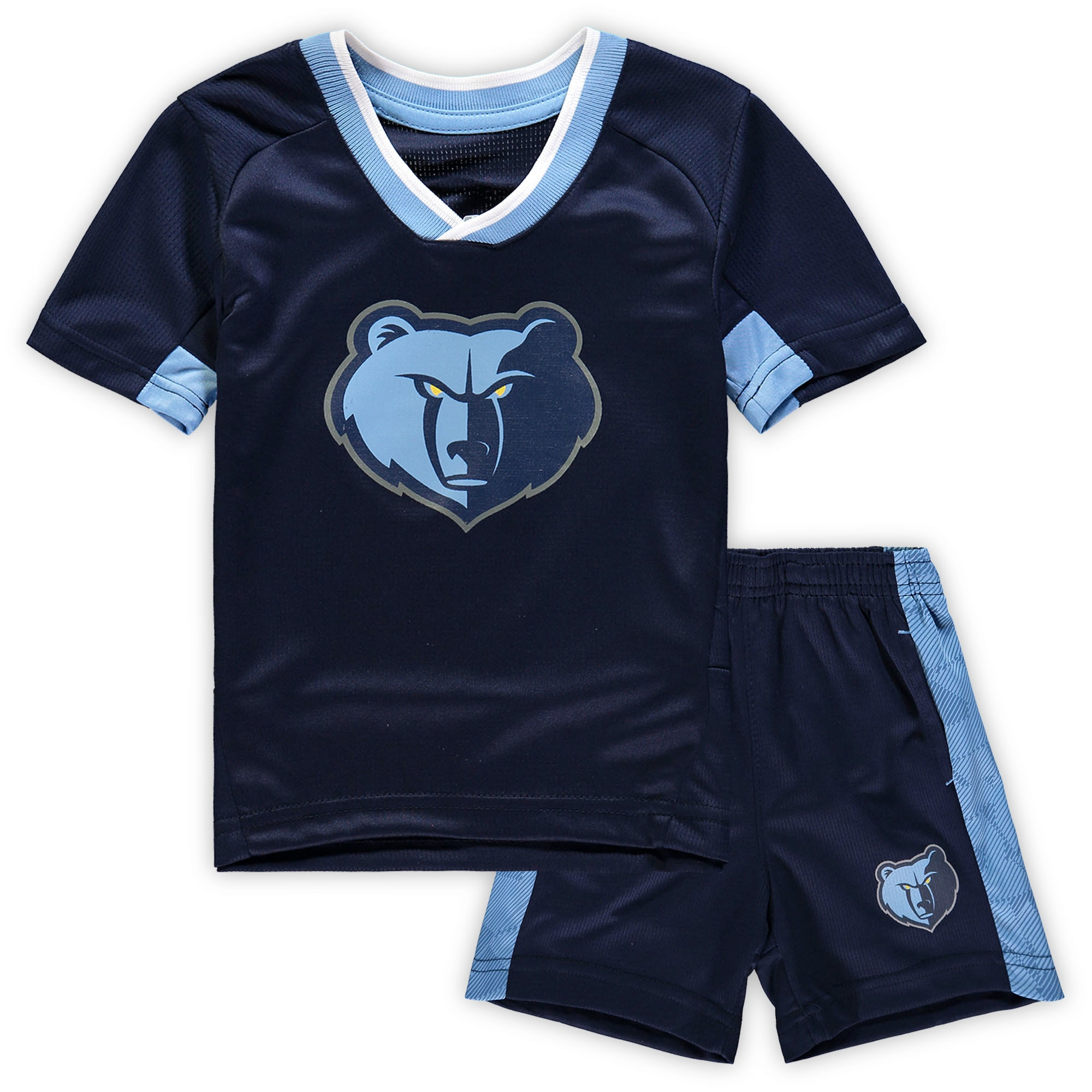 Memphis Grizzlies Preschool & Toddler Double Dribble T-Shirt & Shorts Set - Navy
