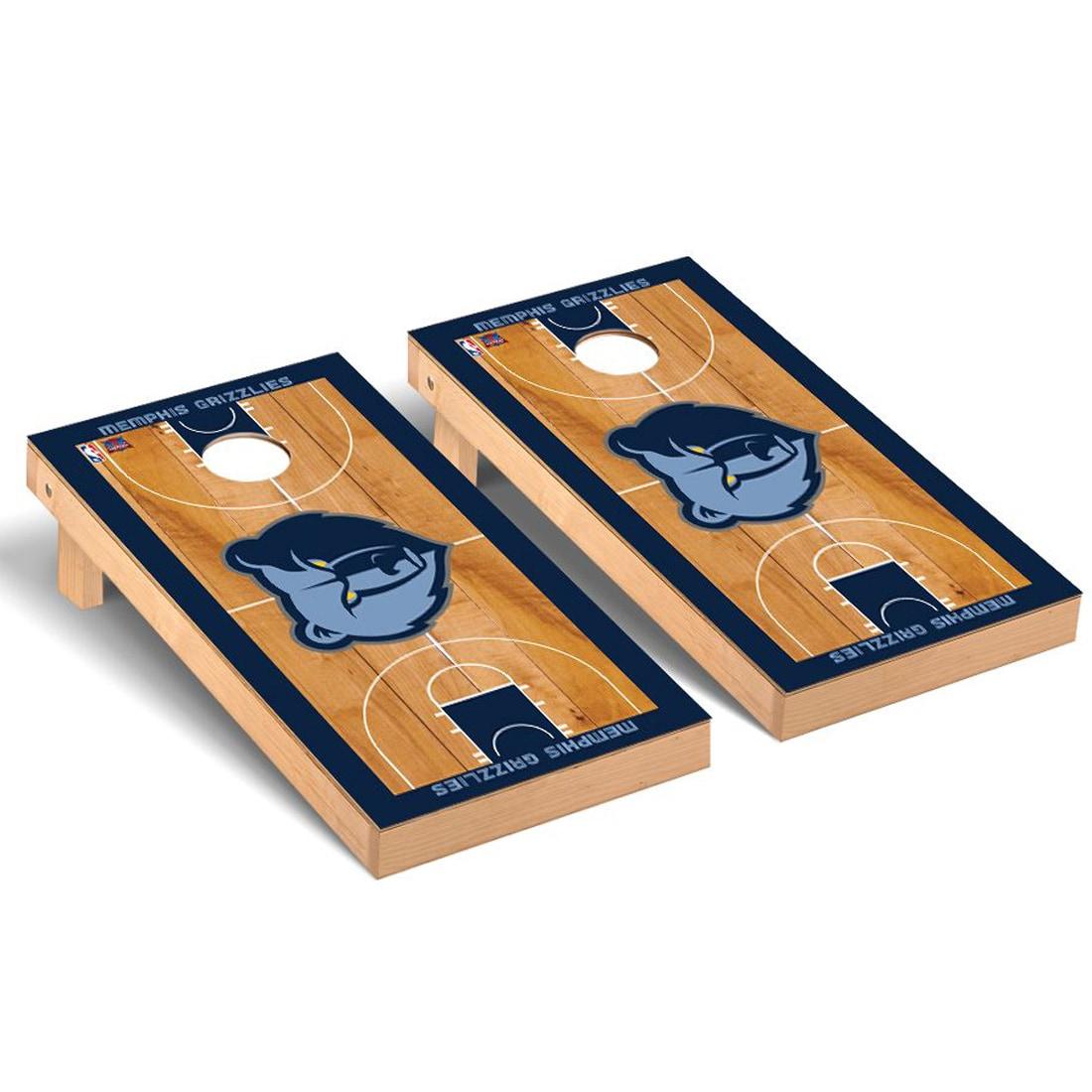 Memphis Grizzlies 2' x 4' Court Cornhole Game Set