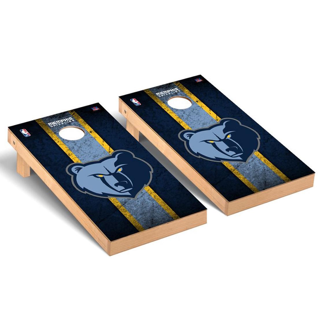 Memphis Grizzlies 2' x 4' Vintage New Cornhole Set