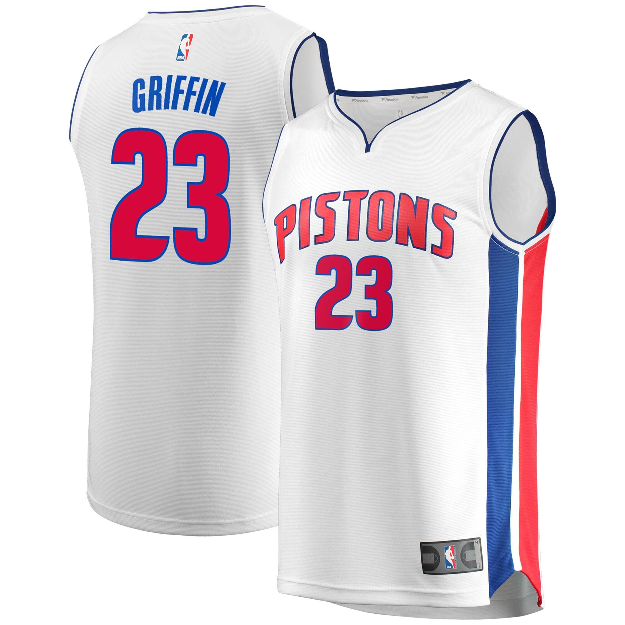Blake Griffin Detroit Pistons Fanatics Branded Breakaway Replica Player Jersey - Association Edition - White