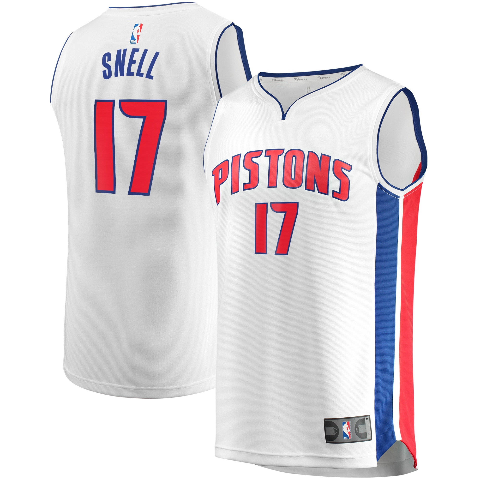 Tony Snell Detroit Pistons Fanatics Branded Fast Break Replica Player Team Jersey - Association Edition - White