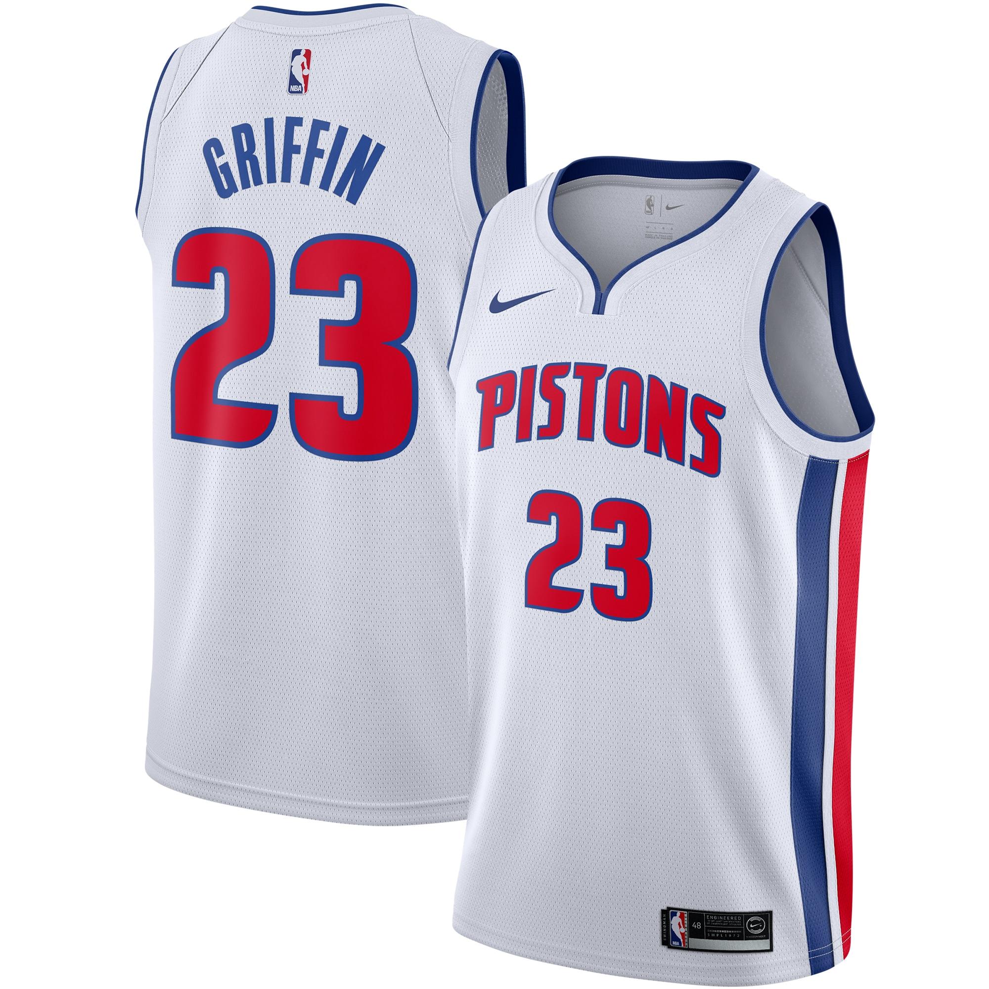 Blake Griffin Detroit Pistons Nike Youth Swingman Jersey - White - Icon Edition