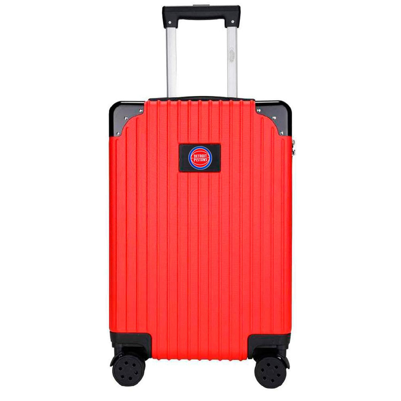 Detroit Pistons Premium 21'' Carry-On Hardcase Luggage - Red