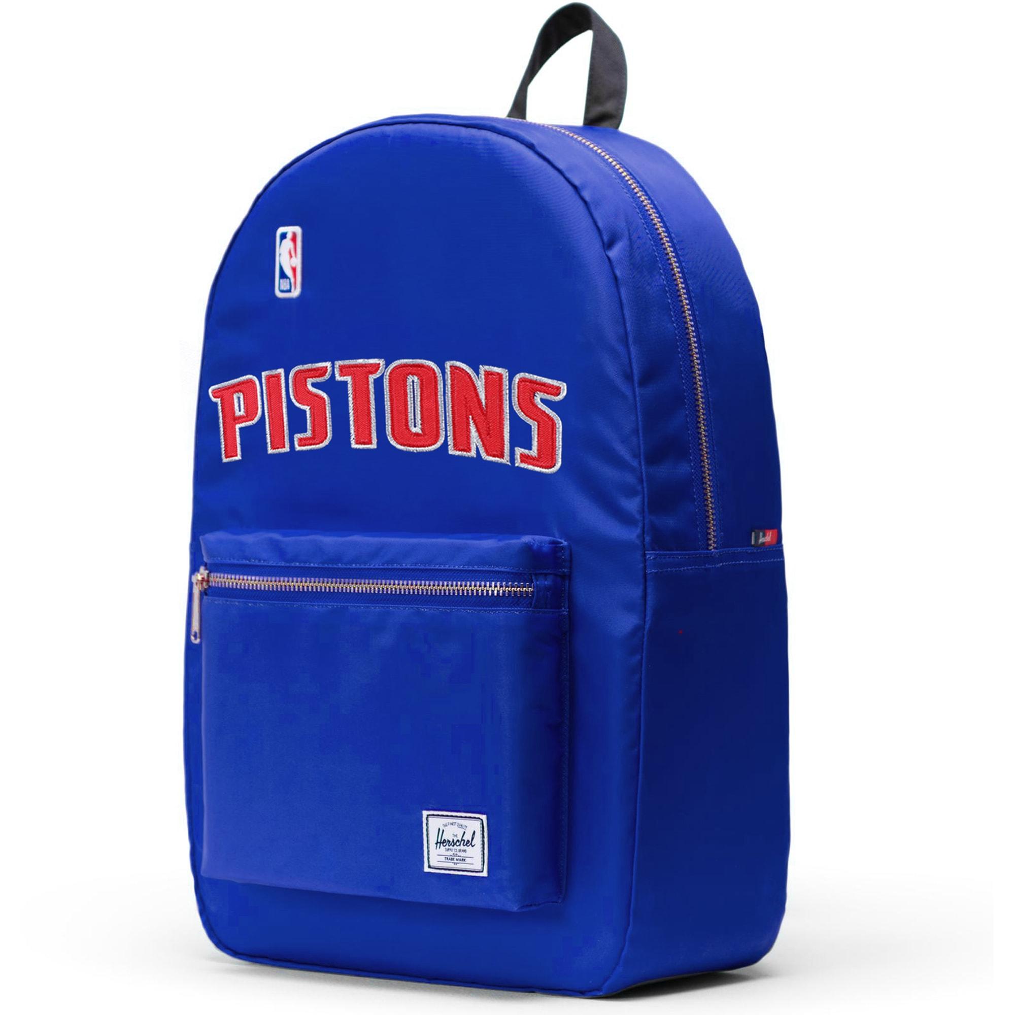 Detroit Pistons Herschel Supply Co. Satin Settlement Backpack - Royal