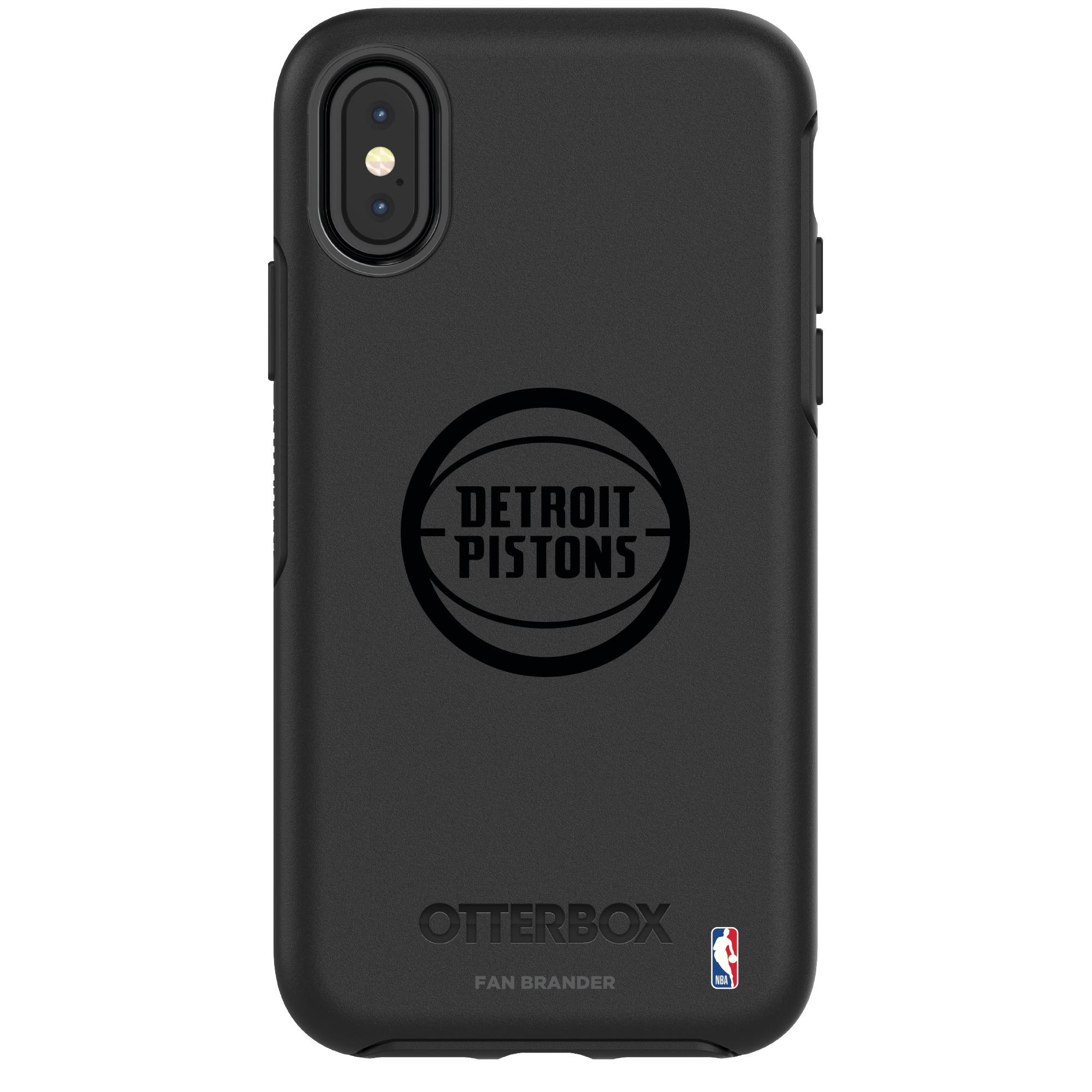 Detroit Pistons OtterBox iPhone Tonal Symmetry Case