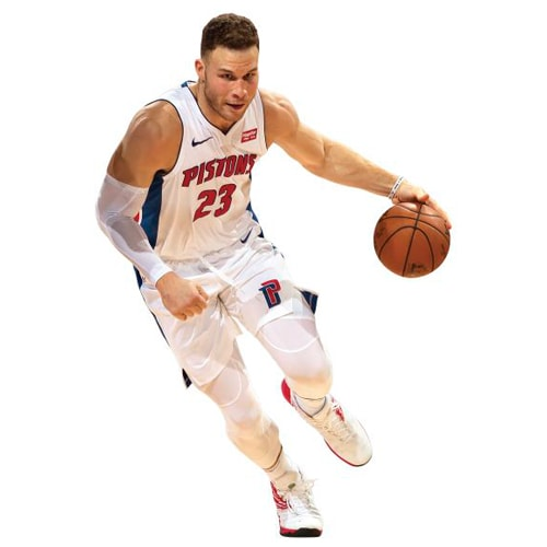 Blake Griffin Detroit Pistons Fathead Life Size Removable Wall Decal