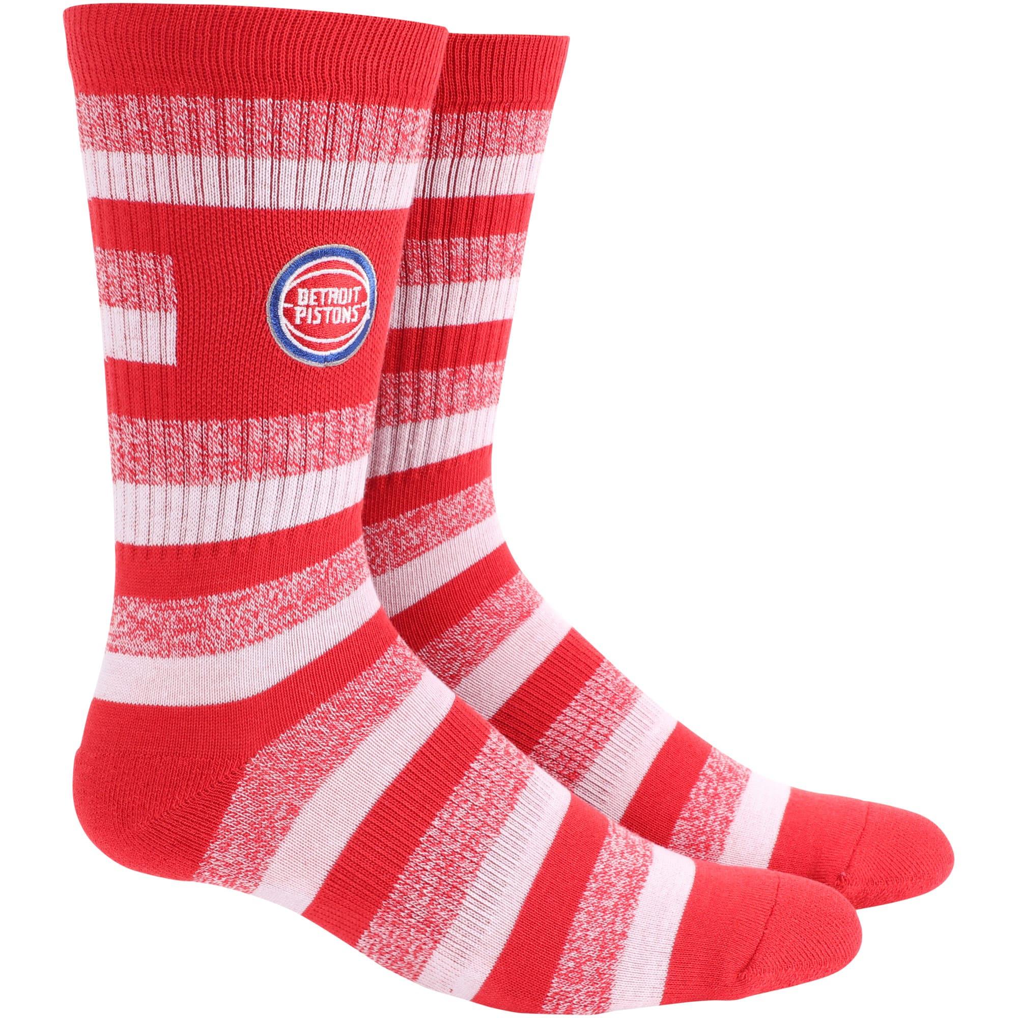 Detroit Pistons Step Crew Socks