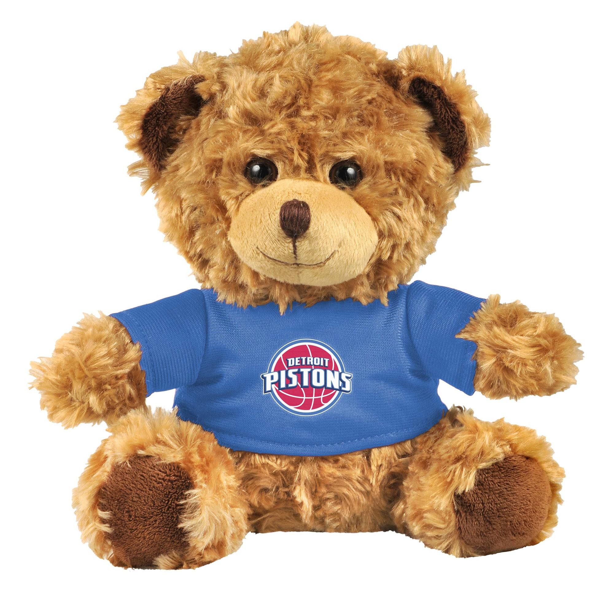 Detroit Pistons Team Shirt Bear