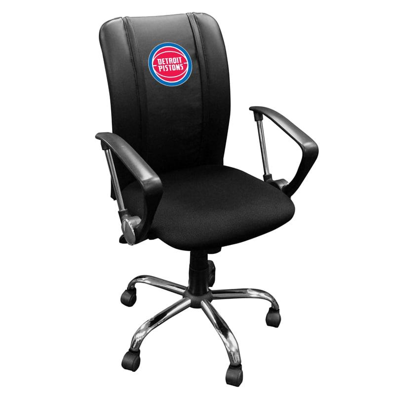 Detroit Pistons Curve Task Chair
